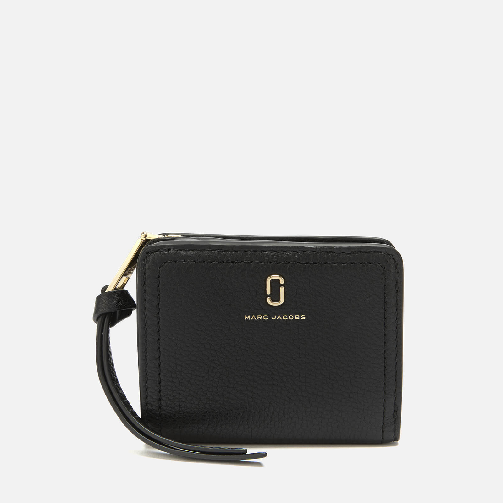 bd094fb2e0 Marc Jacobs Women's Mini Compact Wallet - Black - Free UK Delivery over £50