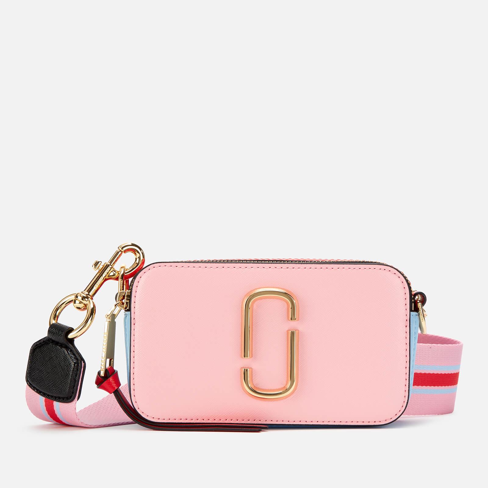 Marc Jacobs Women's Snapshot Cross Body Bag - Tart Pink Multi