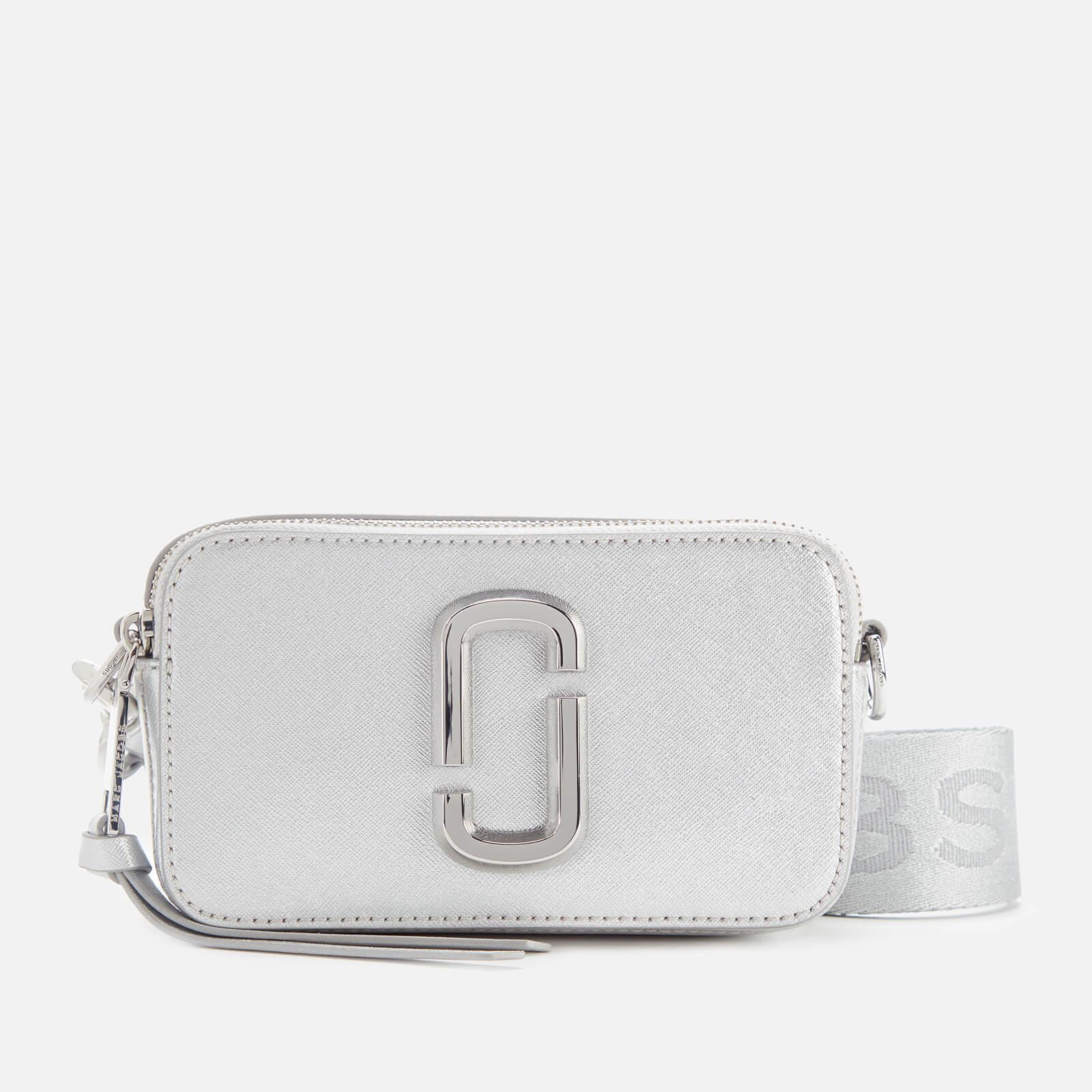 Marc Jacobs Women's Snapshot DTM Cross Body Bag - Metallic Silver