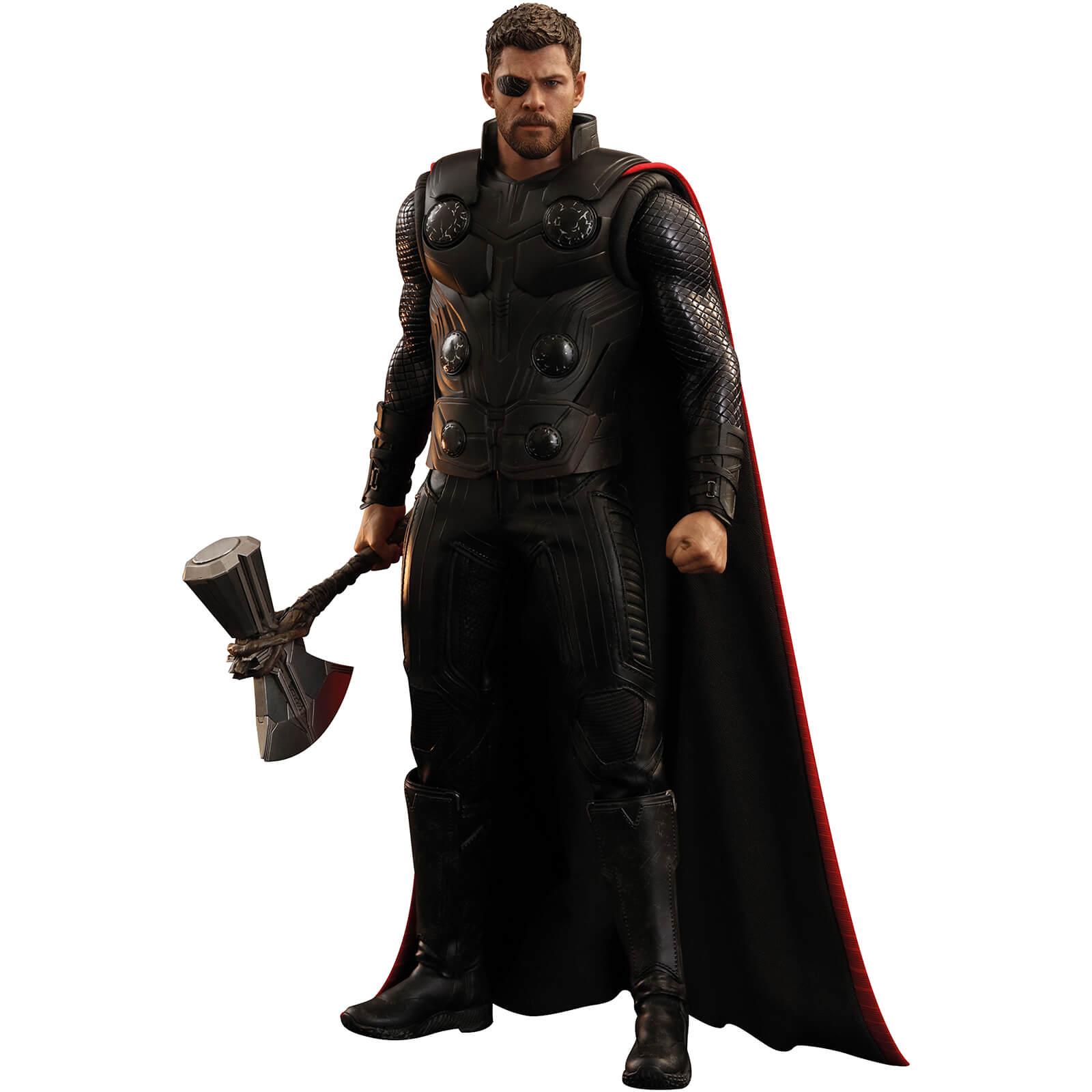 Hot Toys 1 6 Thor Figure Avengers Infinity War Merchandise Zavvi