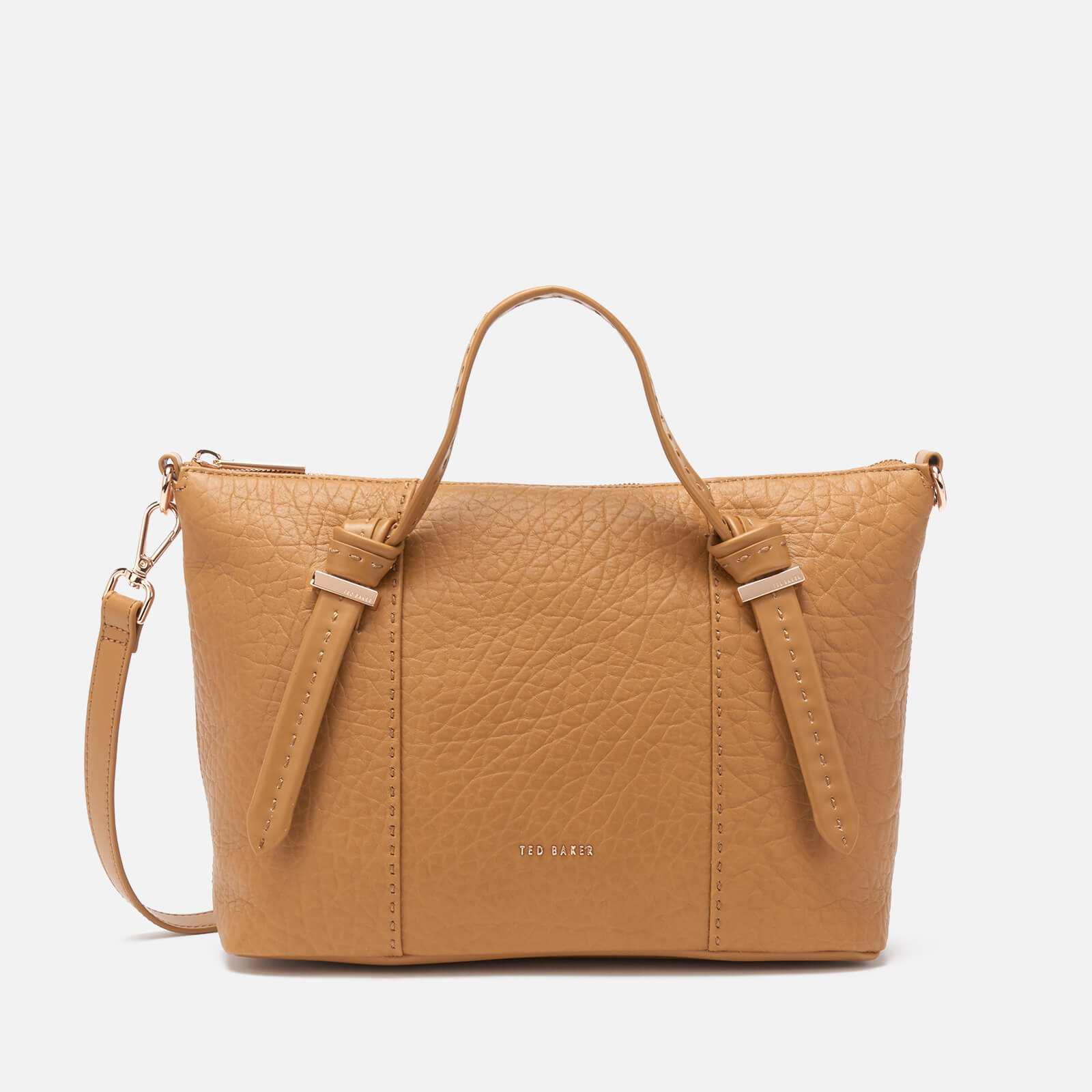 Ted Baker Women's Olmia Knotted Handle Small Tote Bag - Tan 原價189英鎊 優惠價114