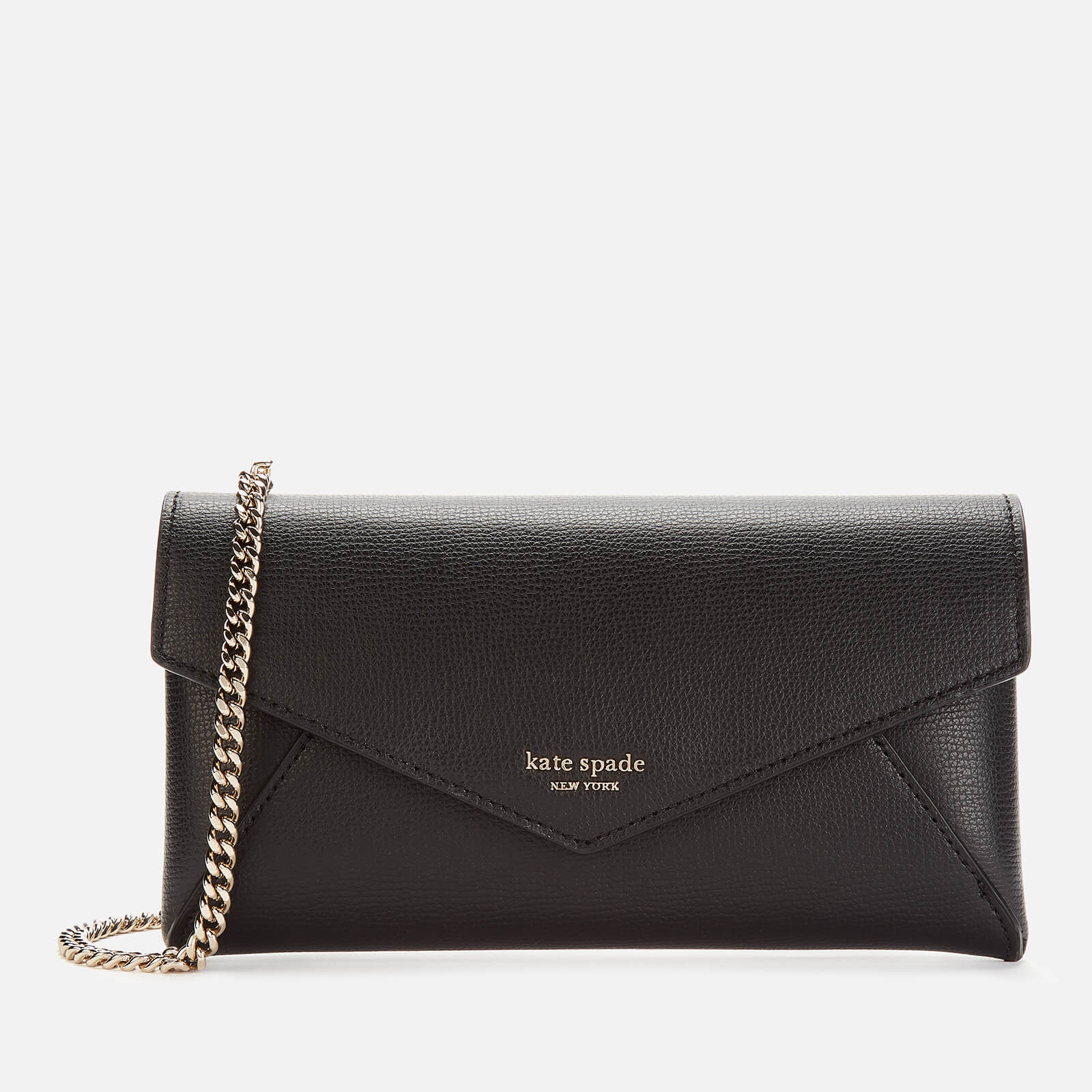 Kate Spade New York Women's Sylvia Chain Clutch Bag - Black