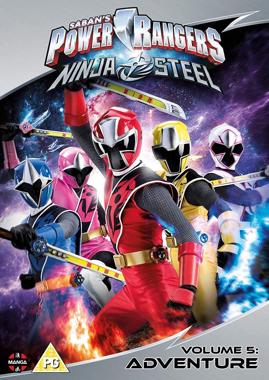 Power Rangers Christmas Jumper.Power Rangers Ninja Steel Adventure Volume 5 Episodes 17 20 Christmas
