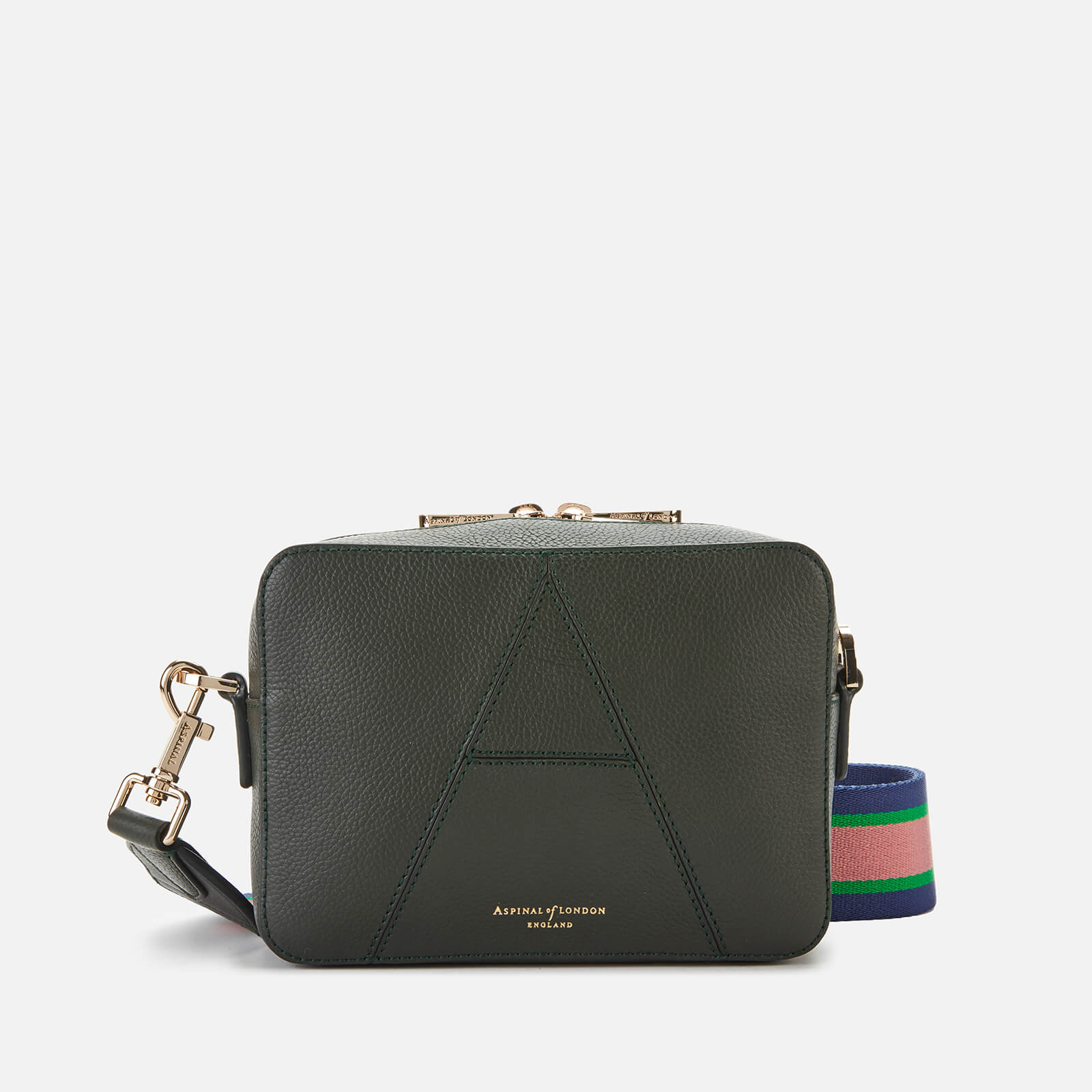 Aspinal of London Women's Camera Bag - Evergreen