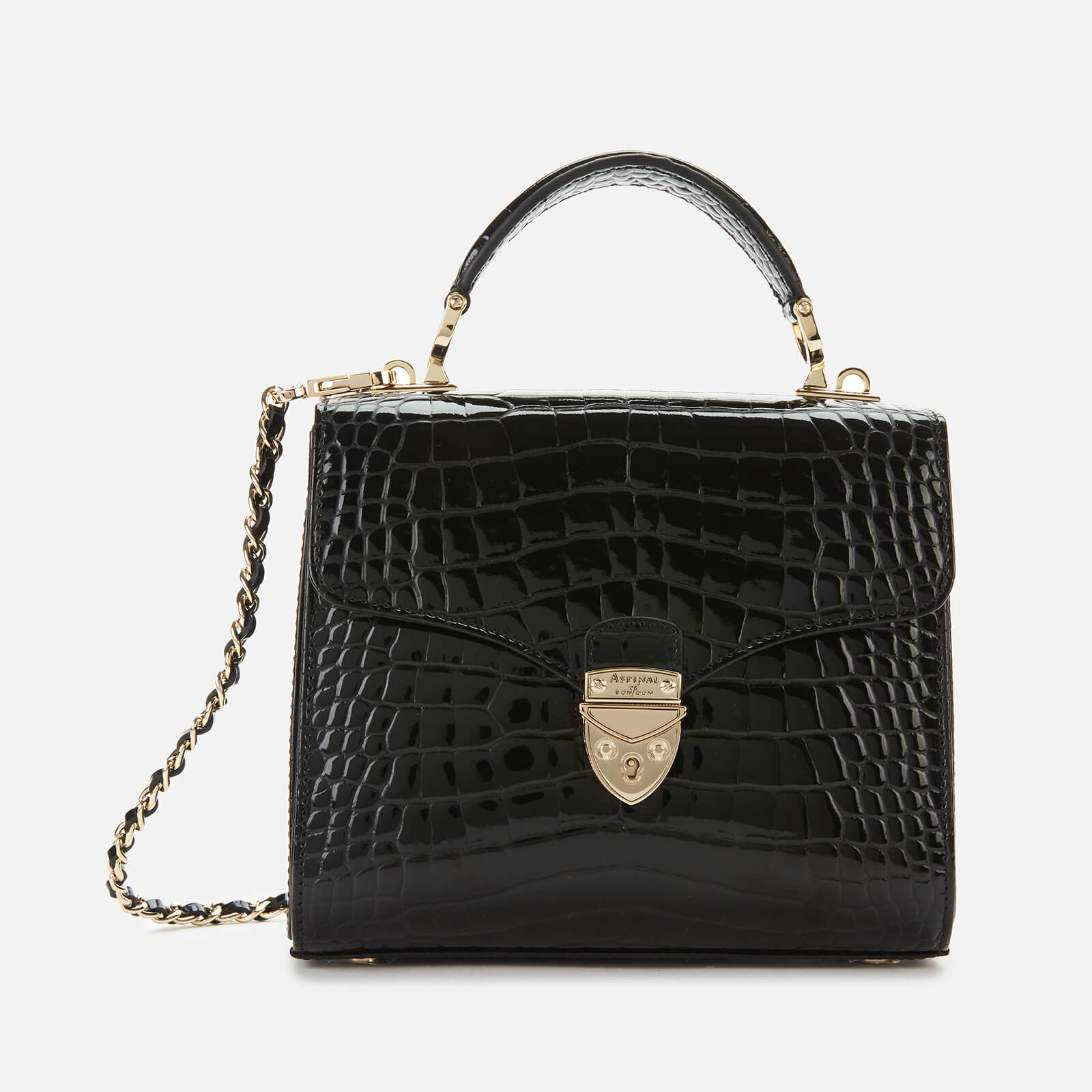 Aspinal of London Women's Mayfair Midi Bag - Black