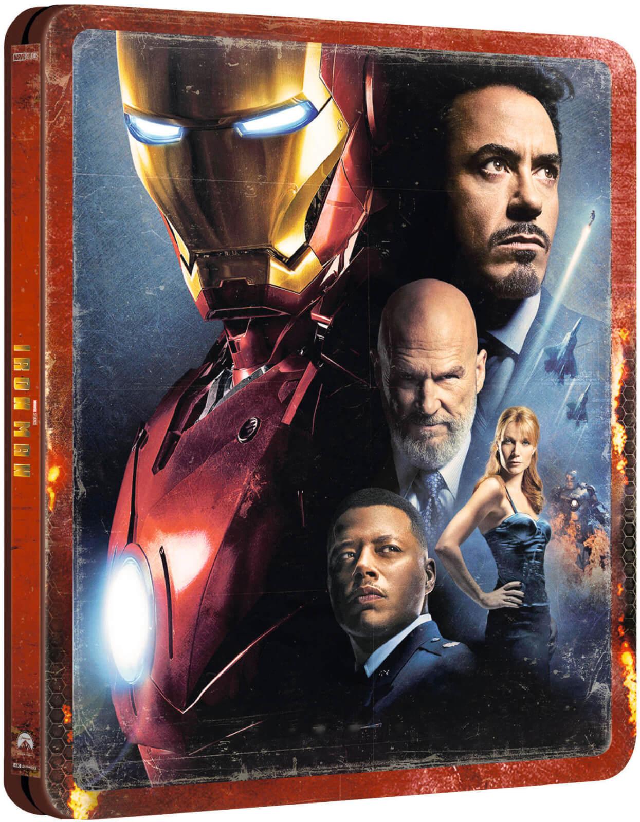 Steelbook Exclusif Iron Man - 4K Ultra HD (Blu-ray 2D inclus)
