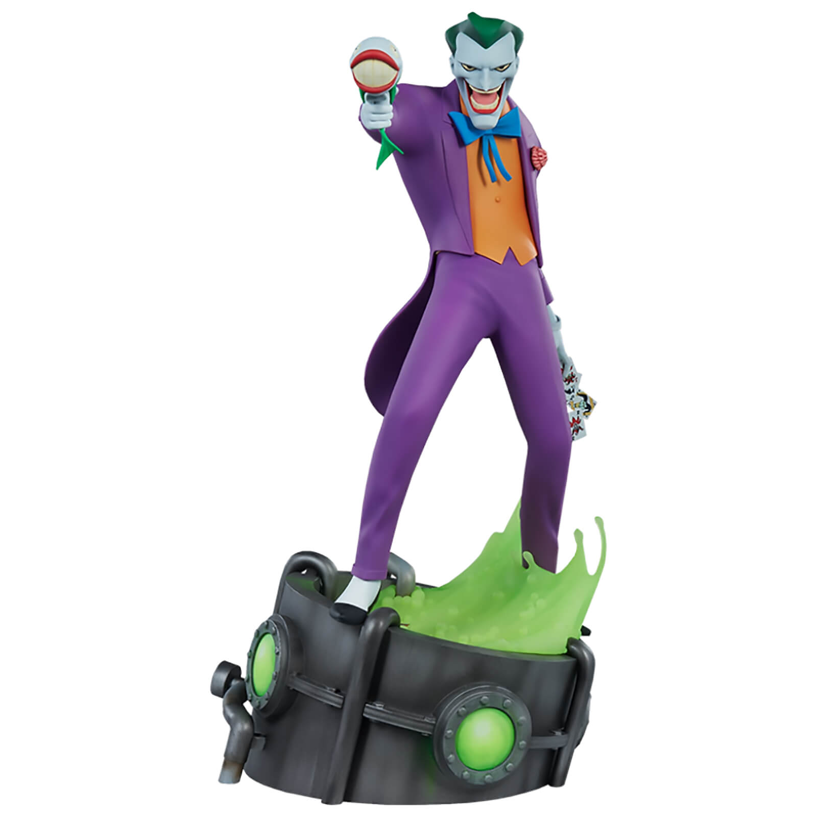Sideshow Collectibles The Joker 17 Animated Series Collection Statue