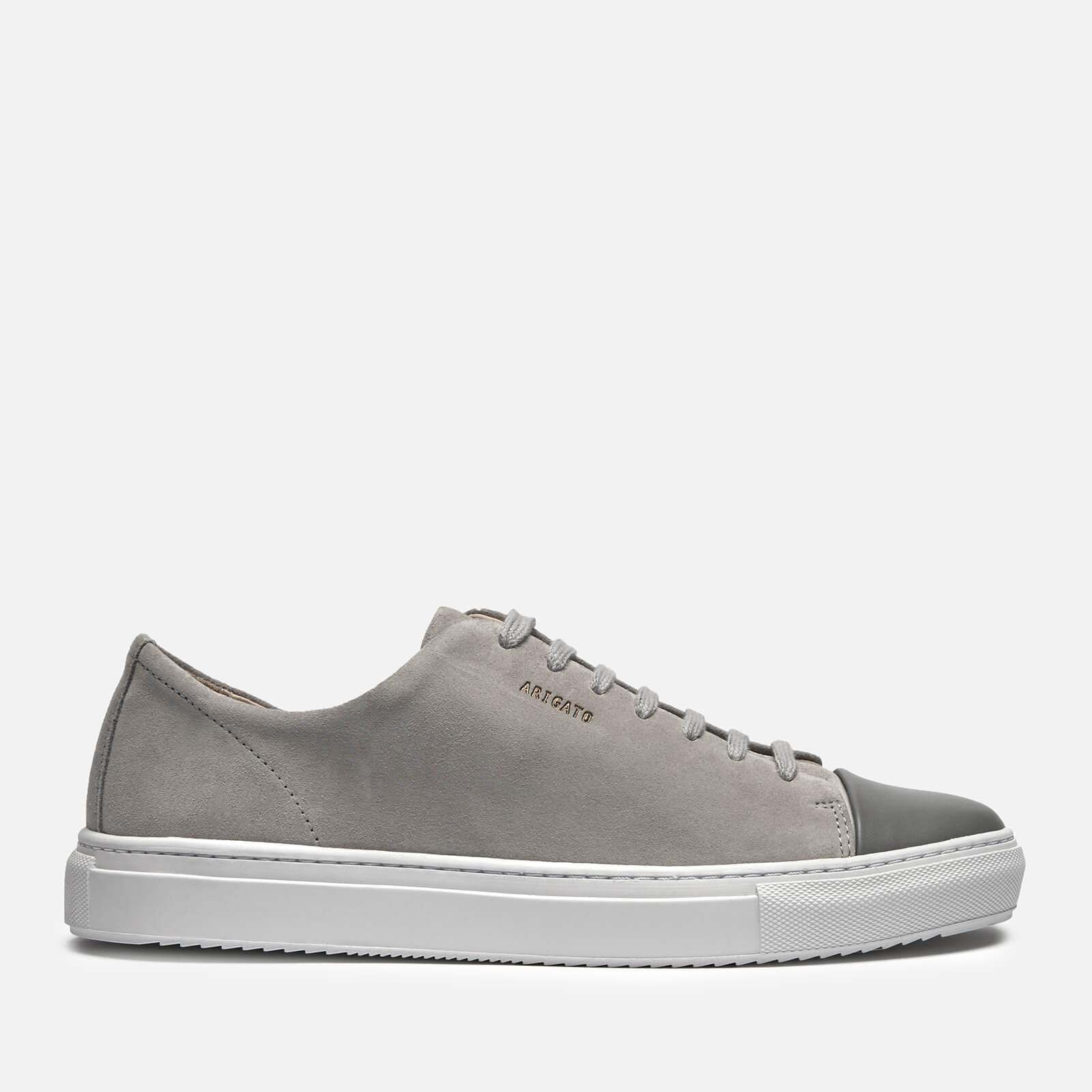 dernier style magasins d'usine style distinctif Axel Arigato Men's Cap Toe Suede Trainers - Light Grey