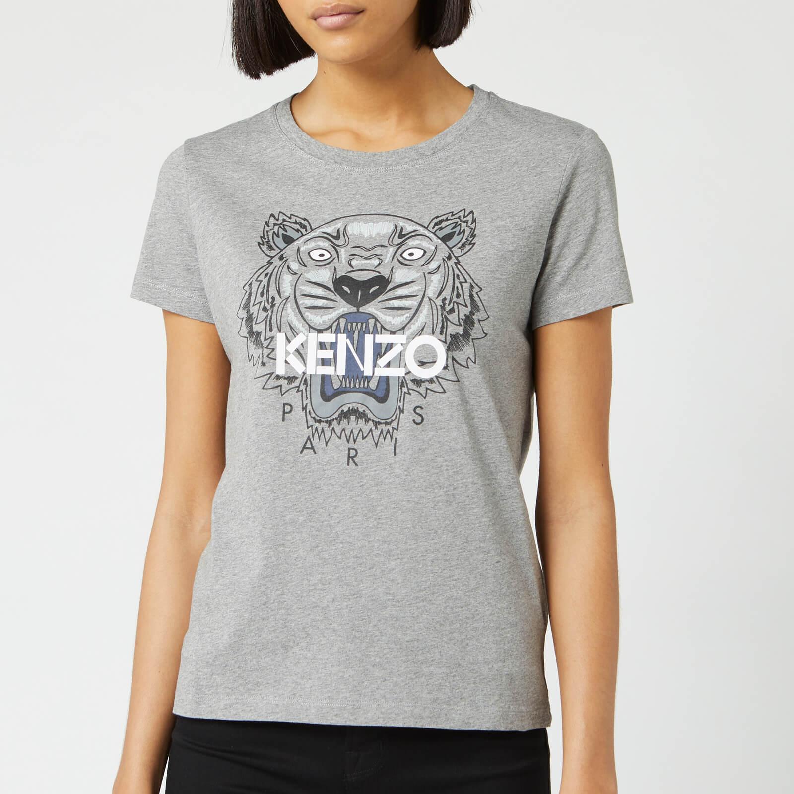 b130ffb112 KENZO Women's Tiger Classic T-Shirt - Dove Grey