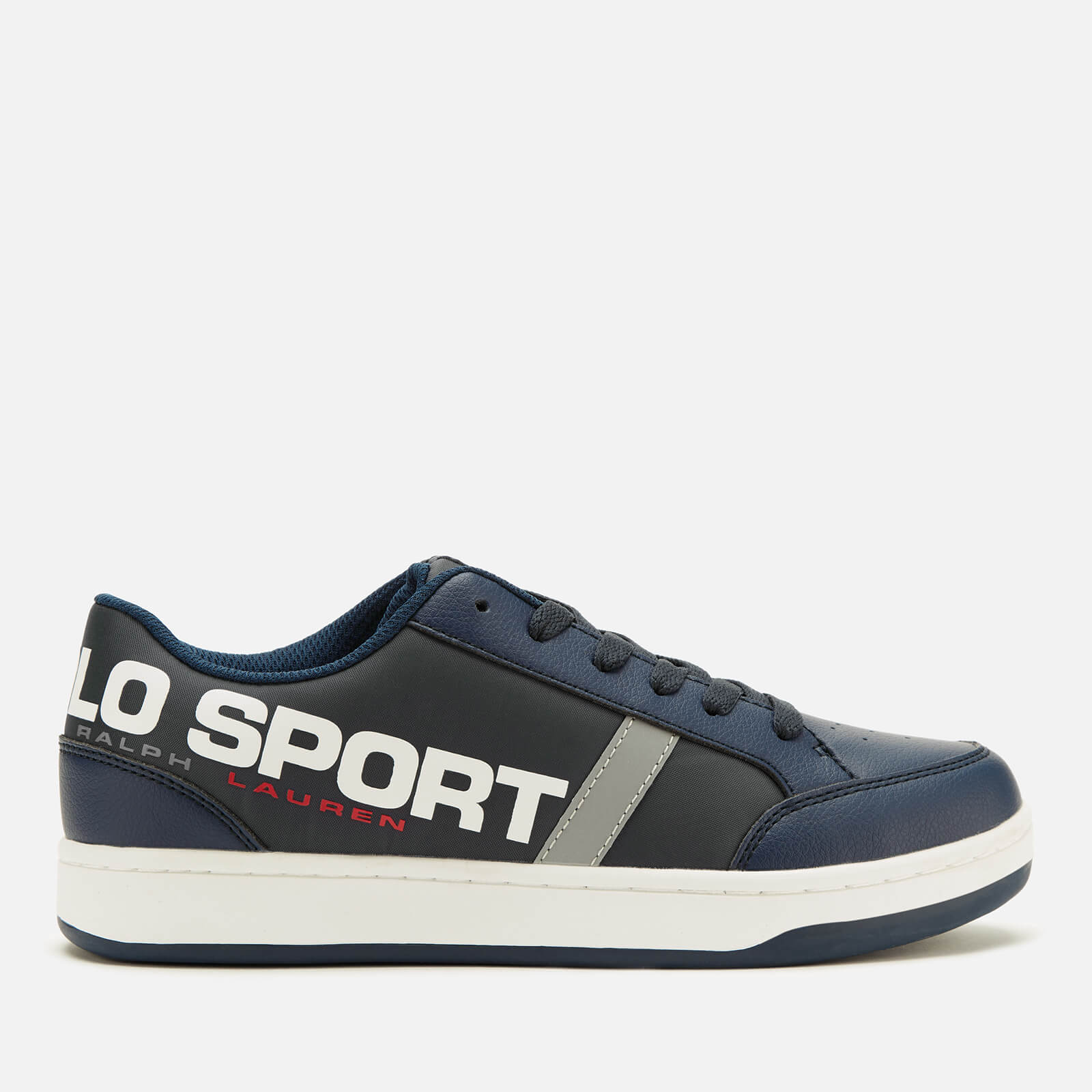 fresh styles new concept temperament shoes Polo Ralph Lauren Kids' Belden Polo Sport Low Top Trainers - Navy ...