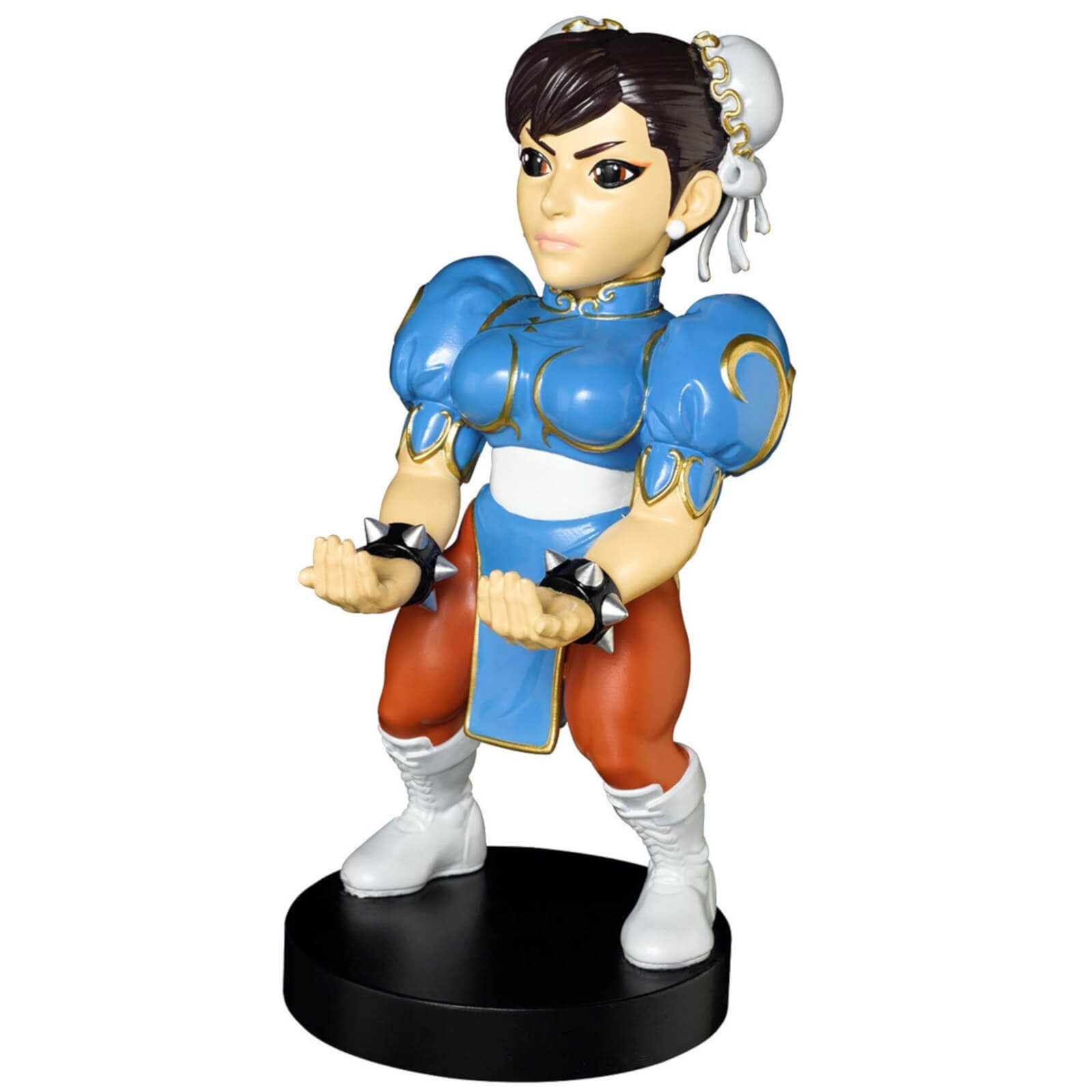 Street Fighter Collectable Chun Li 8 Inch Cable Guy Controller And Smartphone Stand