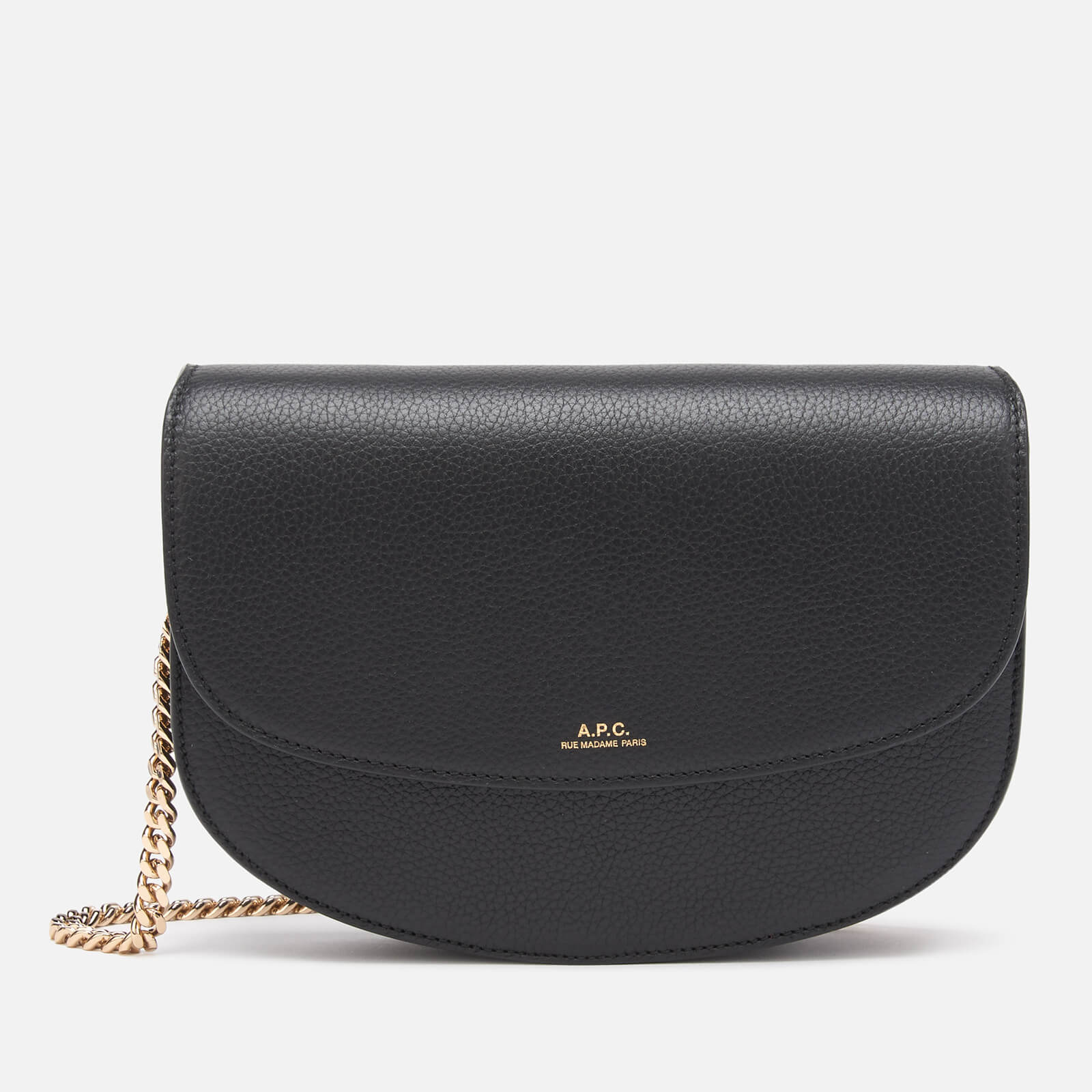 A.P.C. Women's Geneve Chain Cross Body Bag - Black