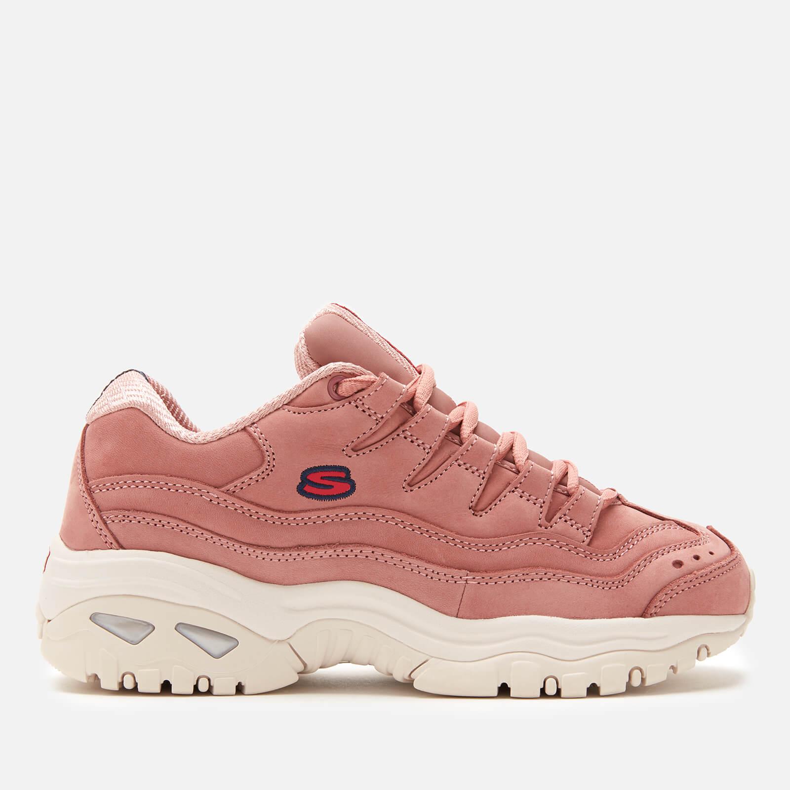 womens pink skechers