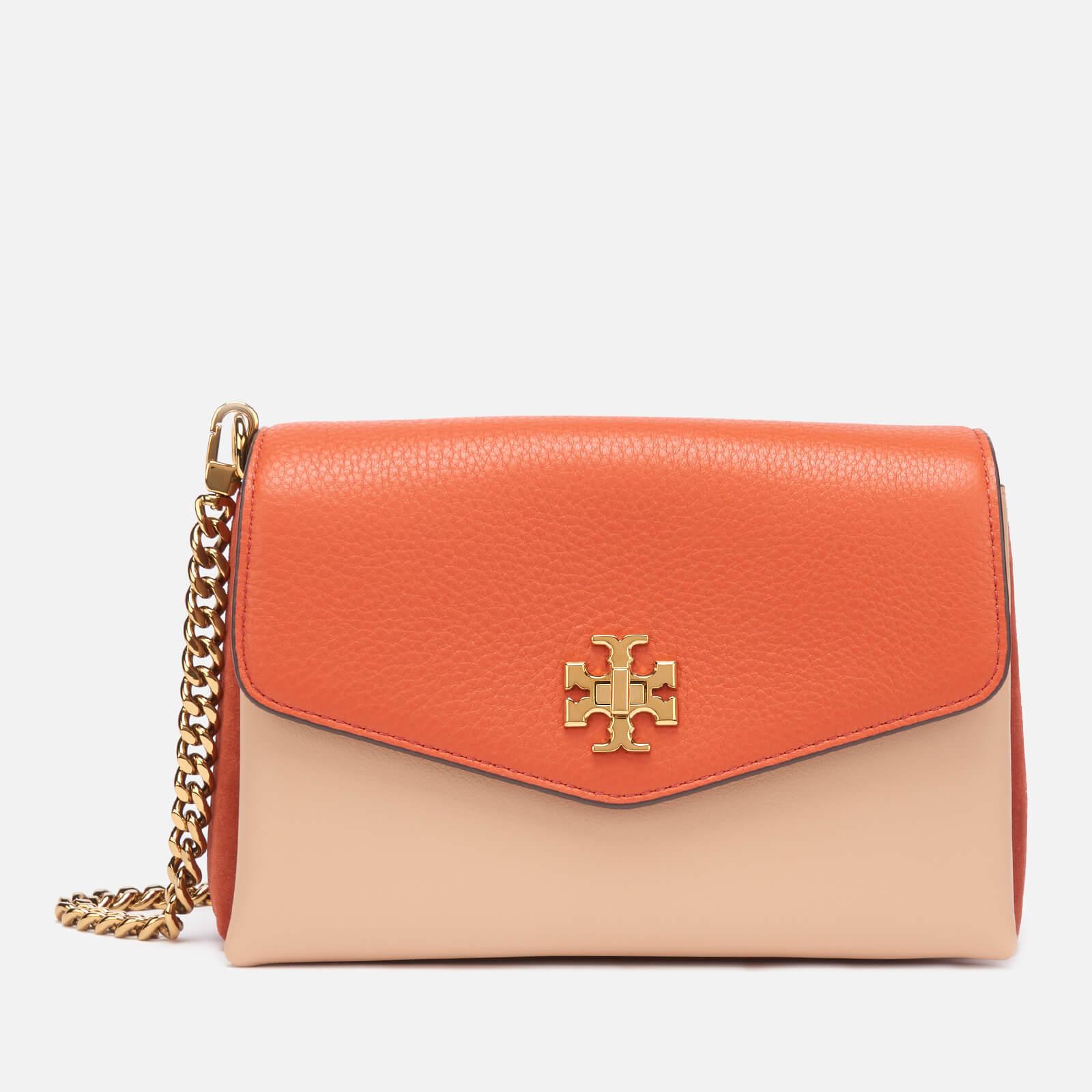 Tory Burch Women's Kira Color-Block Mini Bag - Lava
