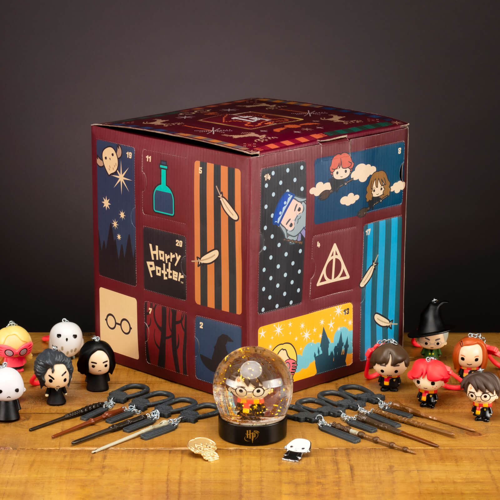 calendrier harry potter