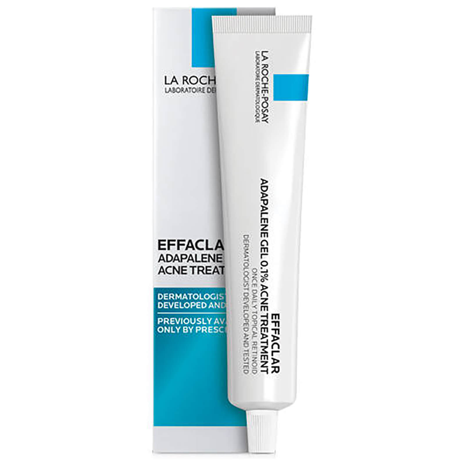 La Roche Posay Effaclar Adapalene Gel 0 1 Retinoid Acne Treatment