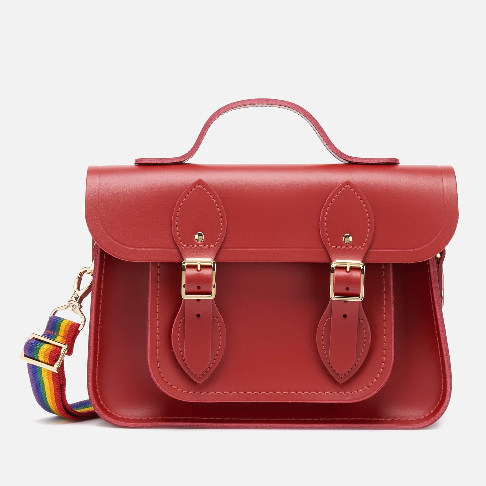 The Cambridge Satchel Company Women's 11'' Magnetic Batchel - Classic Red/Rainbow