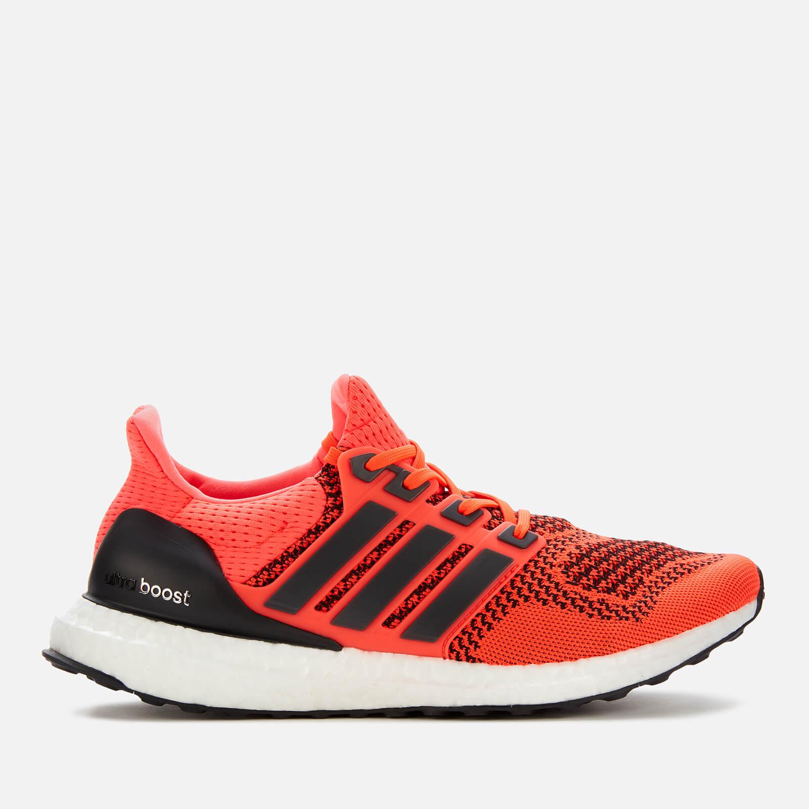 adidas Men\u0027s Ultra Boost Running Shoes , Solar Orange