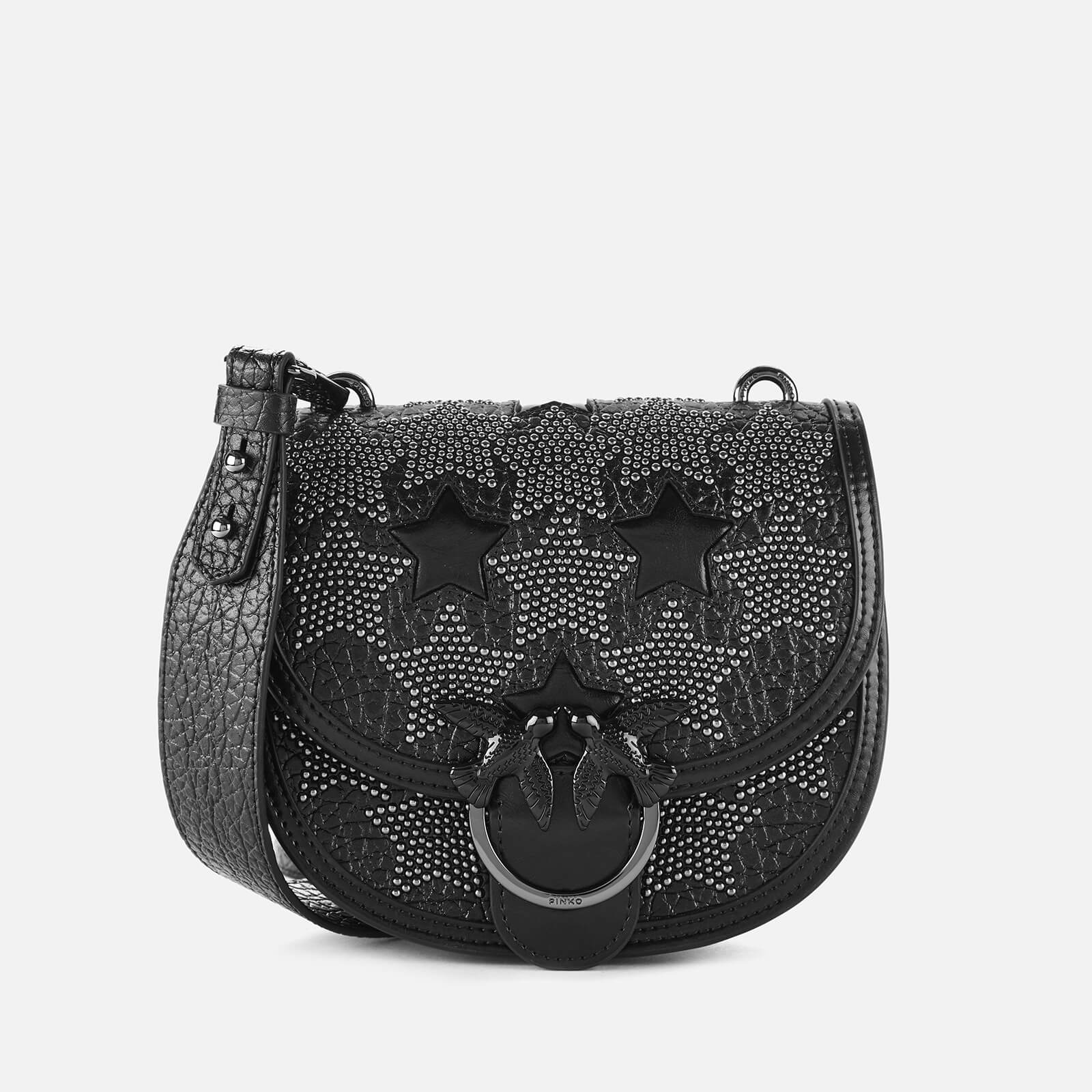 Pinko Women's Round Love Starry Sky Bag - Black