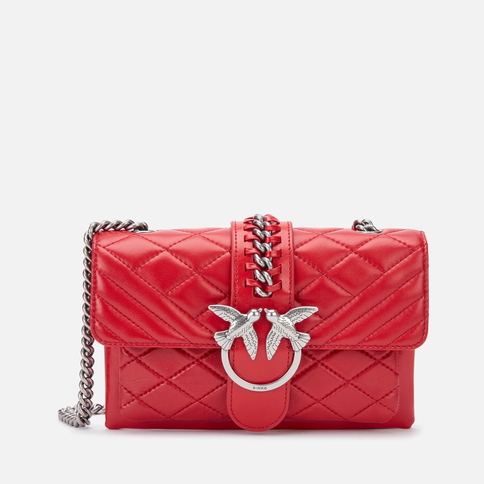 Pinko Women's Mini Love Soft Mix Bag - Tango Red