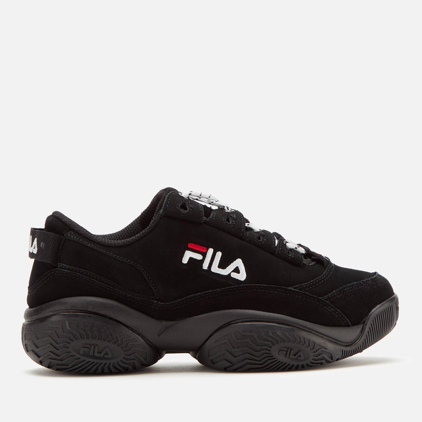 FILA Women's Provenance Trainers - Black/Black/White