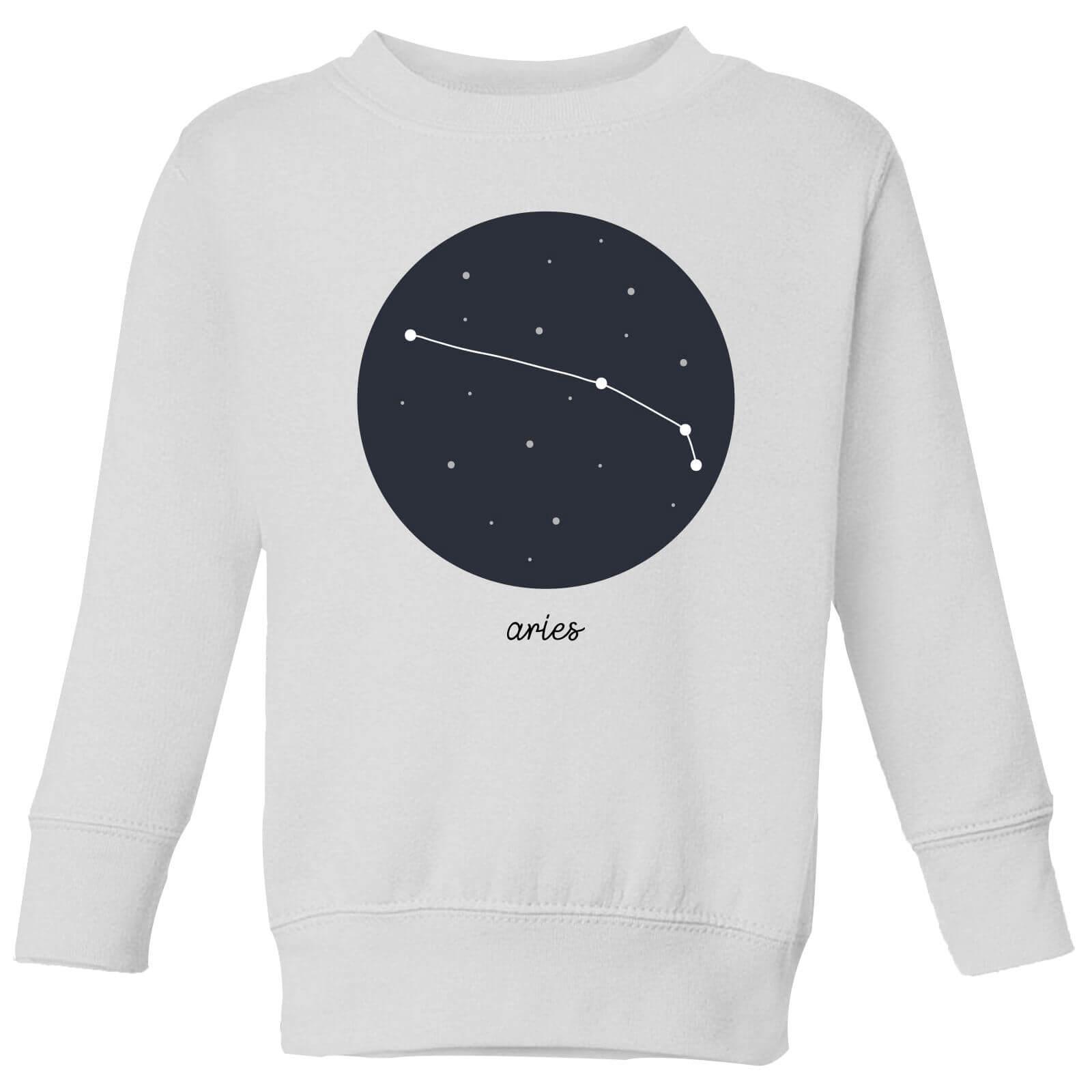1d1ac4aa5880 Aries Kids' Sweatshirt - White   IWOOT