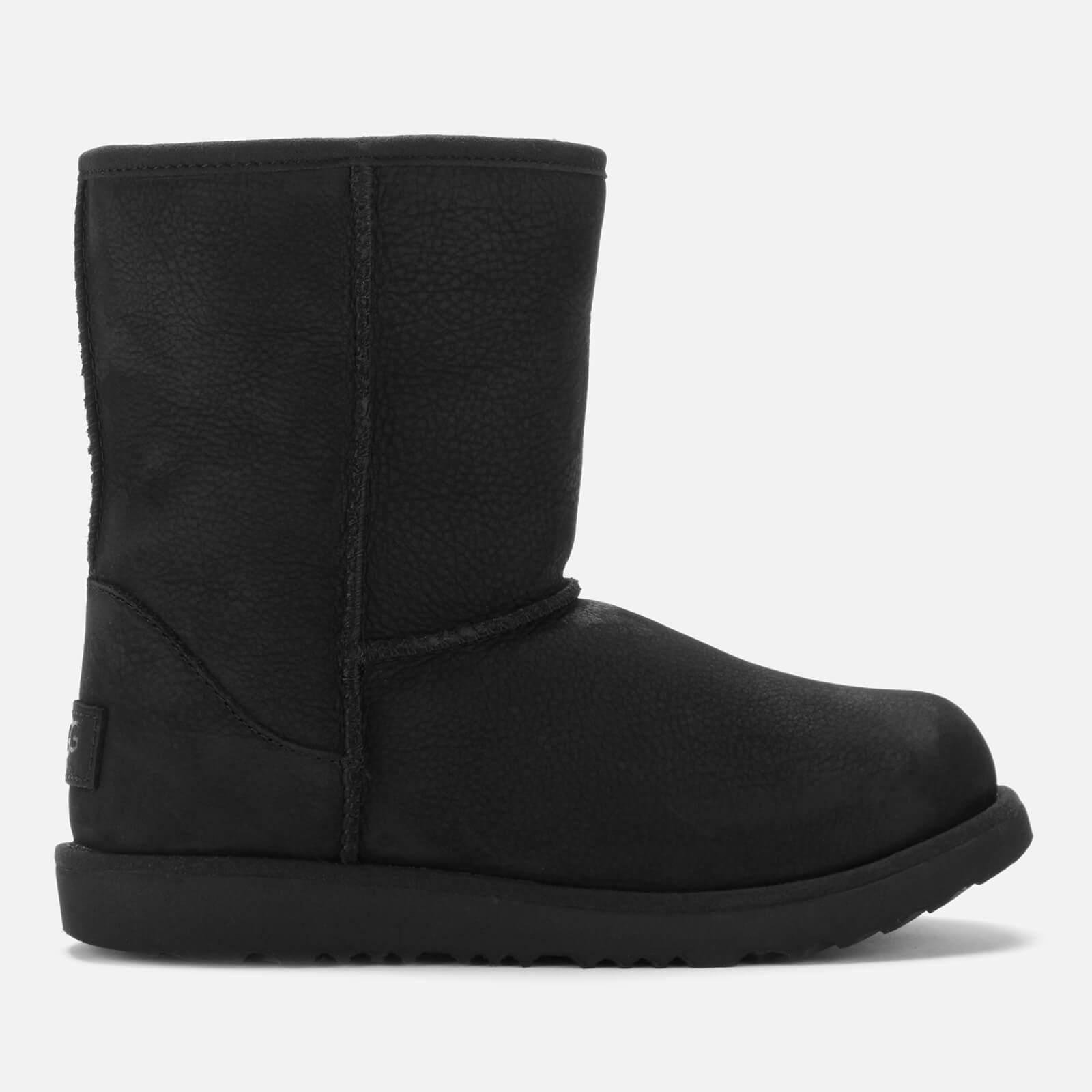 aa98491e1d6 UGG Kids' Classic Short II Waterproof Boots - Black
