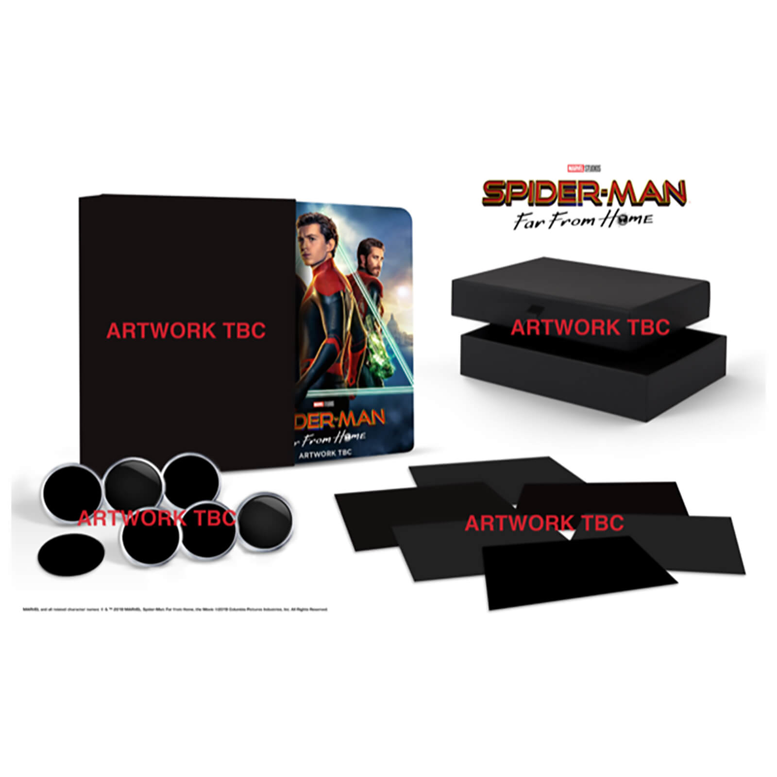 Spider-Man: Far From Home - 4K Ultra HD (Includes 2D Blu-ray) Zavvi  Exclusive Collector's Edition Steelbook