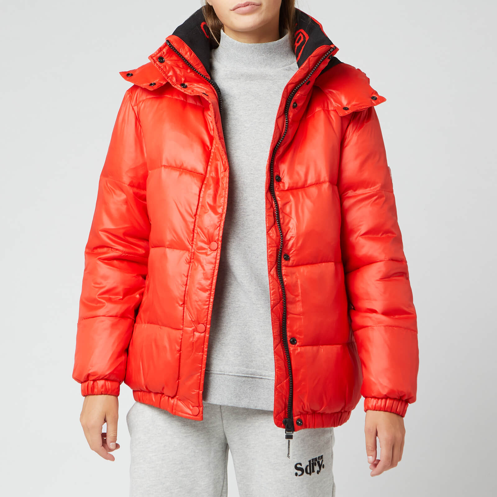 Superdry Women's Astrid Puffer Jacket Apple Red