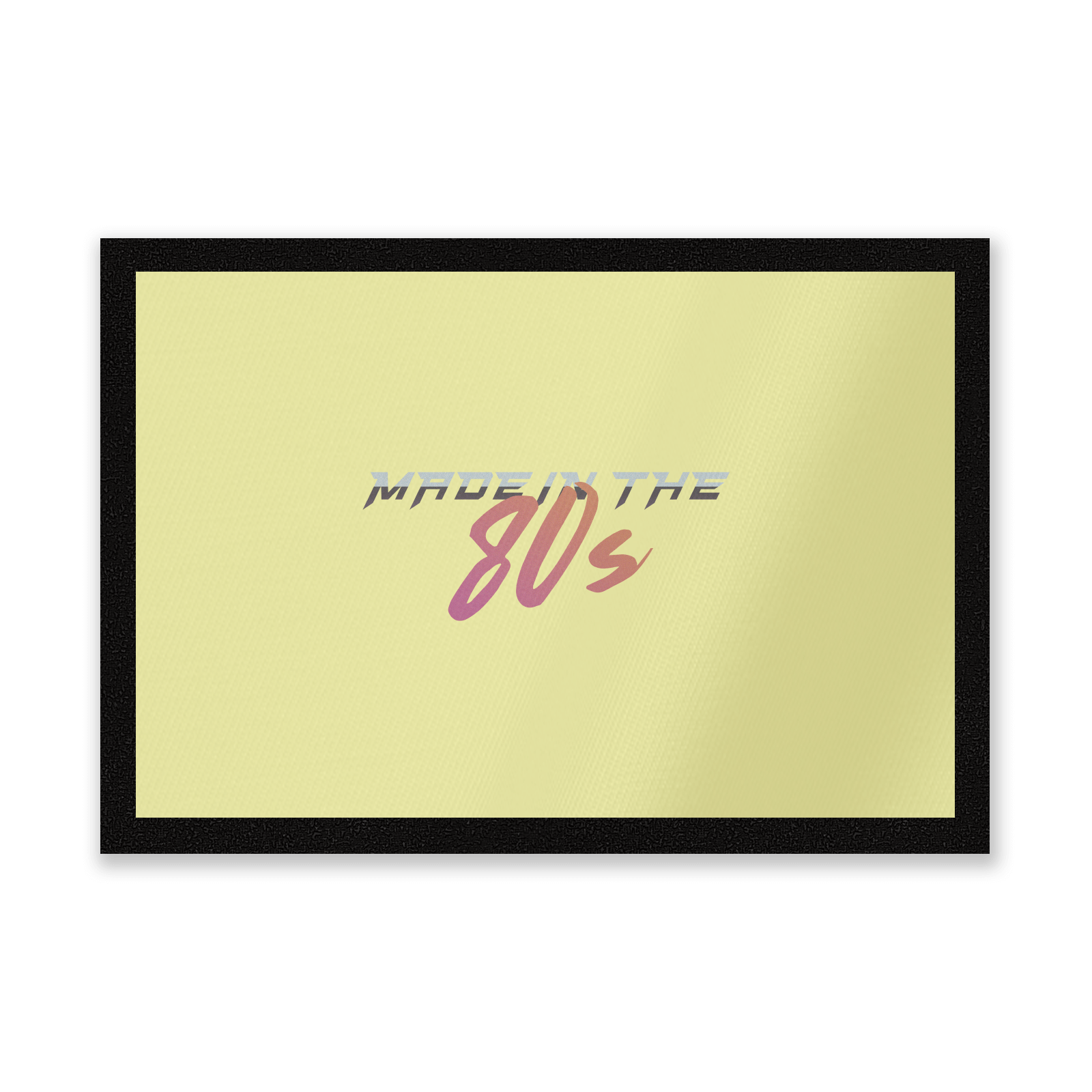 Made In The 80s Gradient Entrance Mat