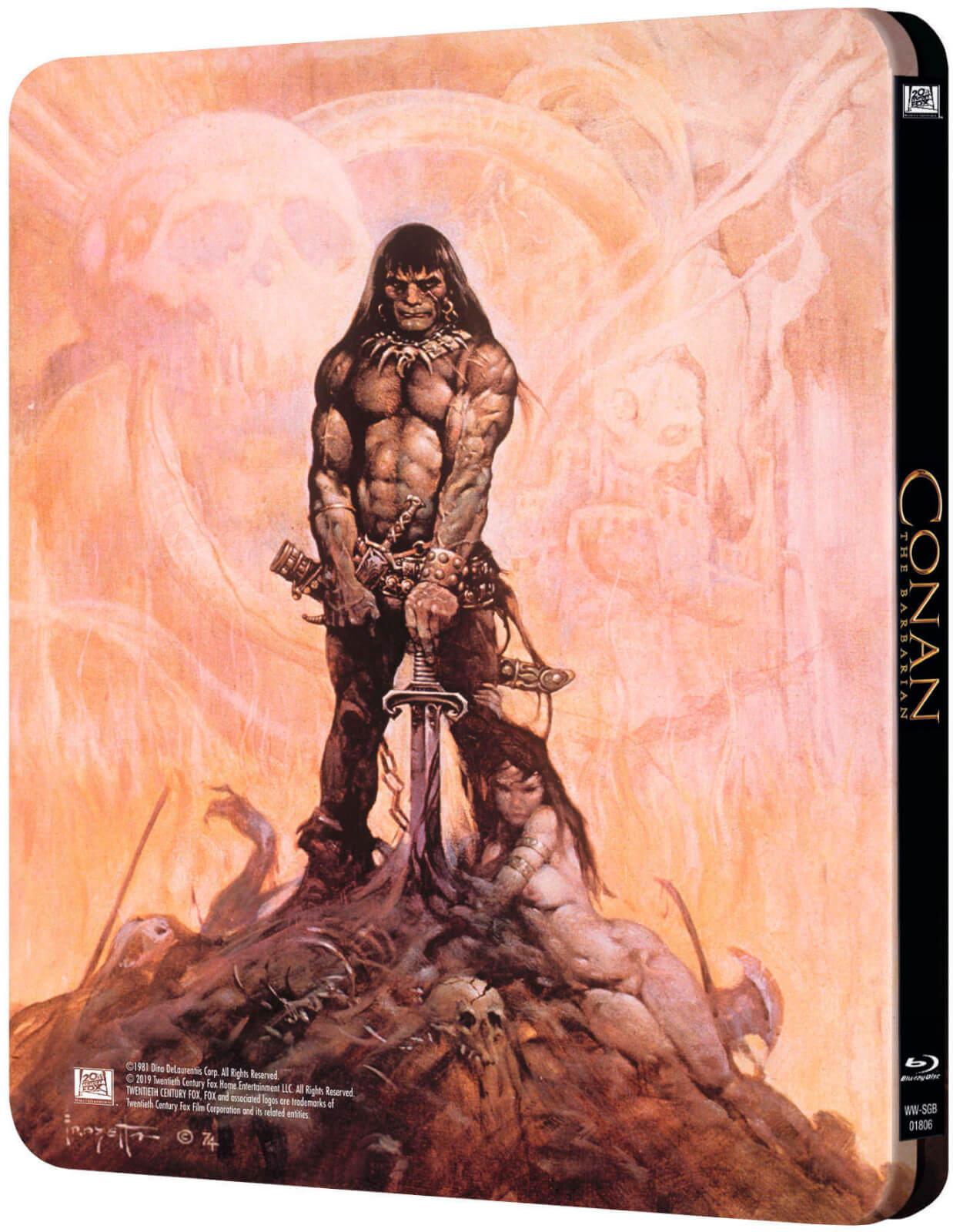 Conan the Barbarian - Zavvi UK Exclusive Steelbook