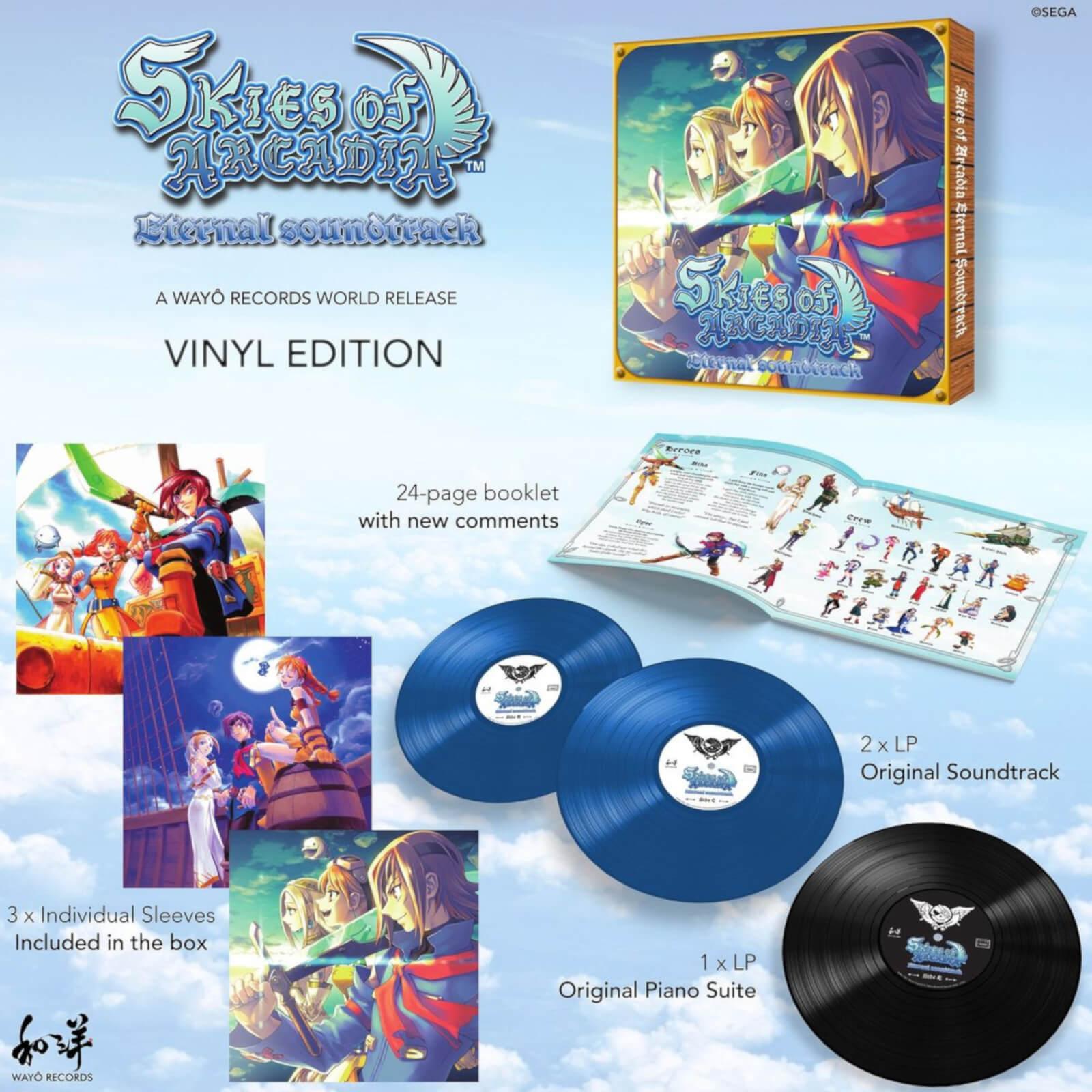 Skies of Arcadia - Eternal Soundtrack 3xLP