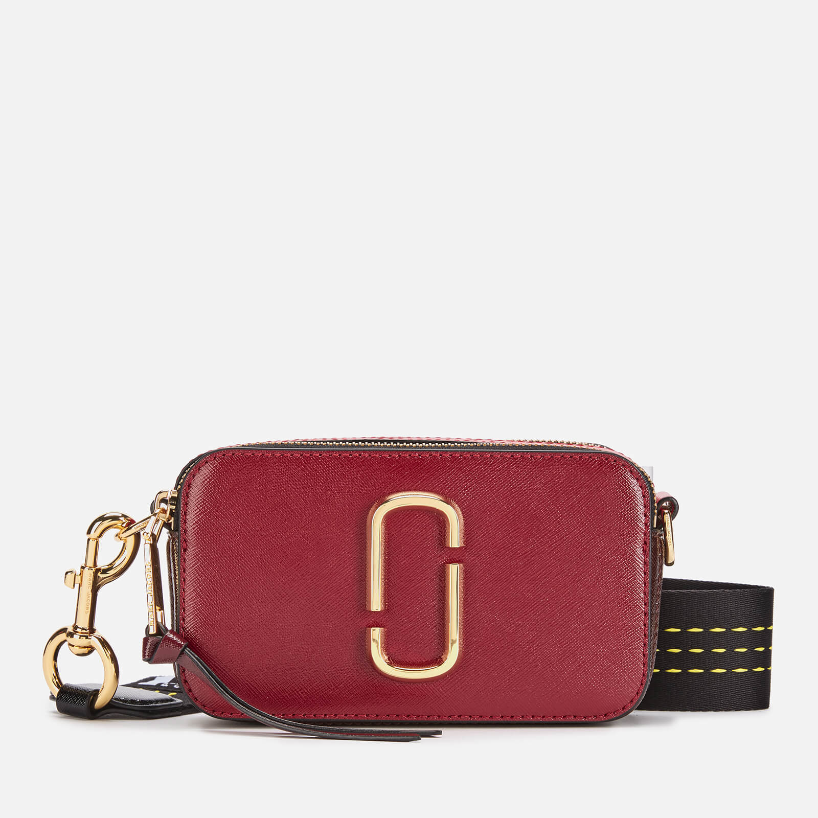 Marc Jacobs Women's Snapshot Bag - Cranberry/Multi