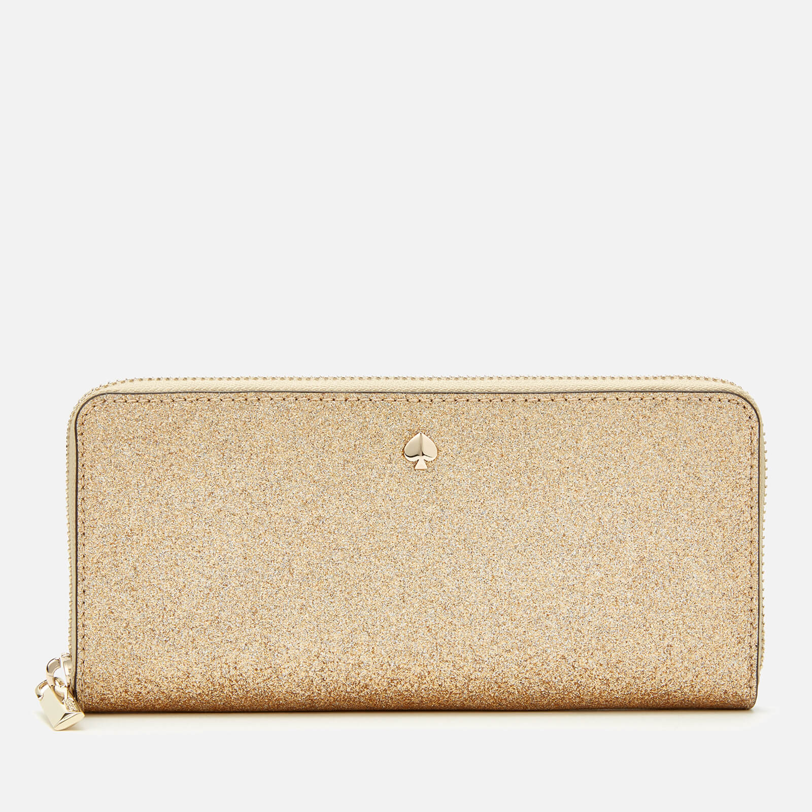 Kate Spade New York Women's Burgess Court Slim Continental Wallet - Pale Gold 原價150英鎊 優惠價75