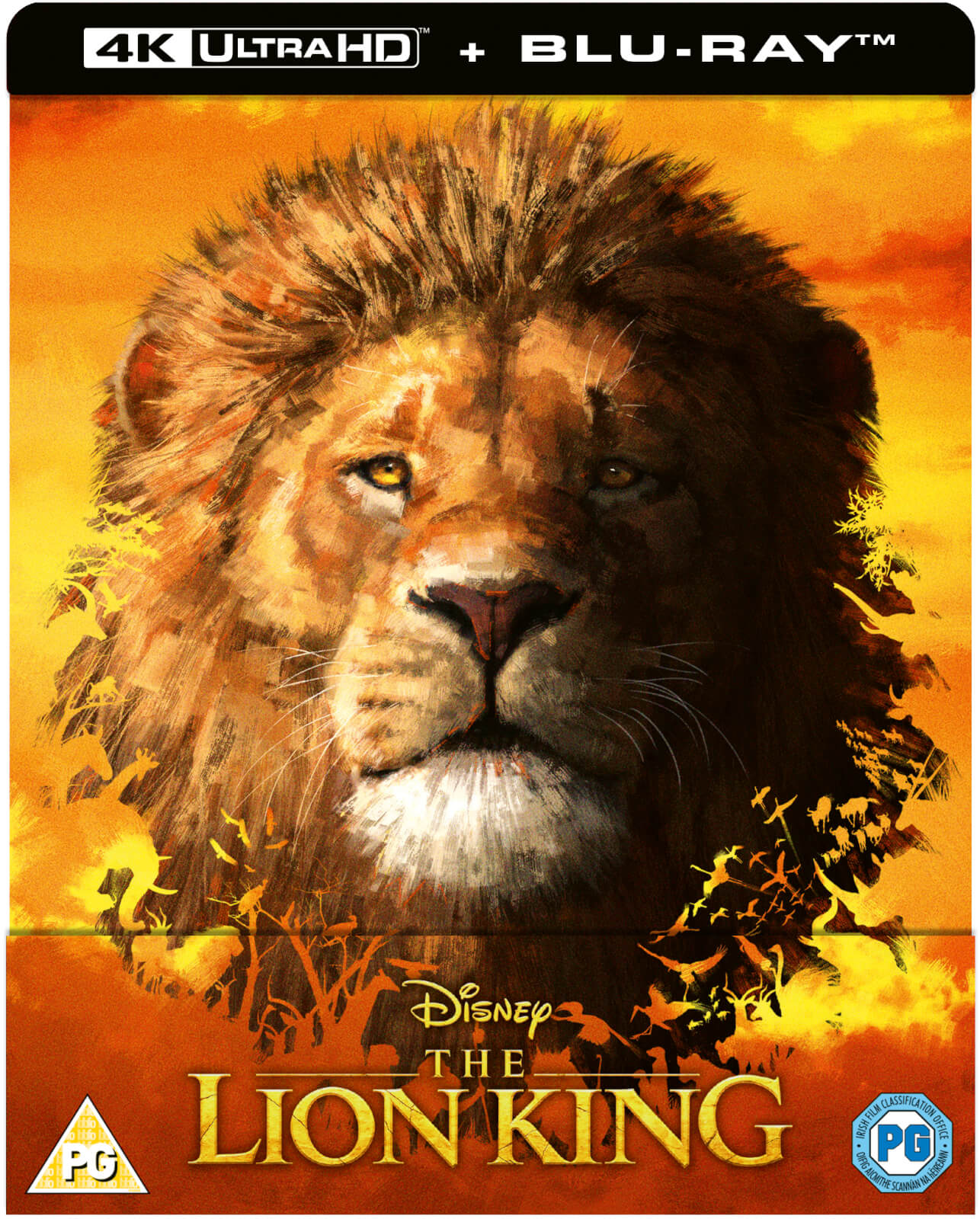 The Lion King Live Action Zavvi Exclusive 4k Ultra Hd Steelbook Includes Blu Ray