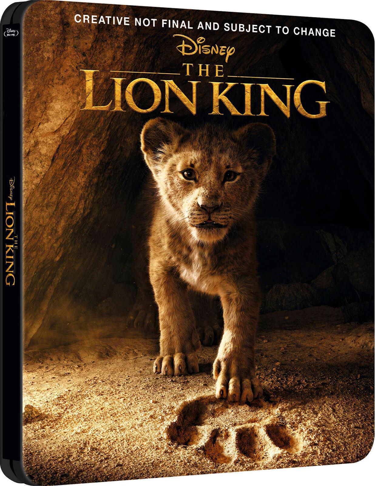 ผลการค้นหารูปภาพสำหรับ lion king 2019 blu ray