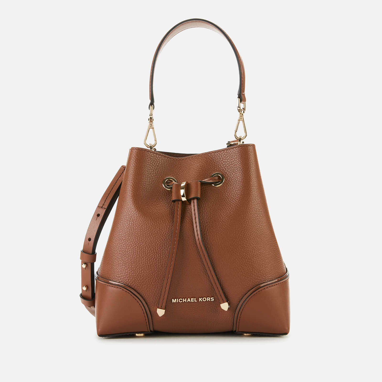 MICHAEL MICHAEL KORS Women's Mercer Gallery Small Convertible Bucket Bag - Luggage