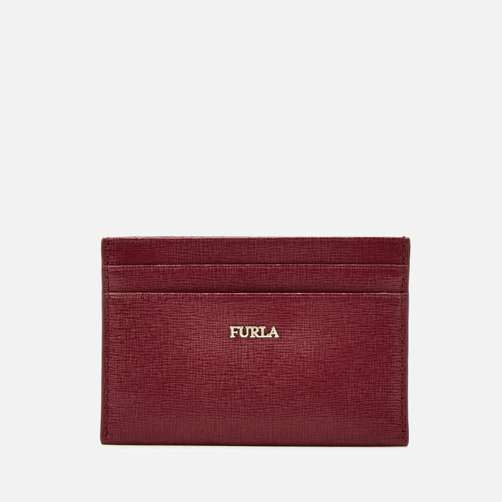 Furla Women's Babylon Small Credit Card Case - Red 原價55英鎊 優惠價33