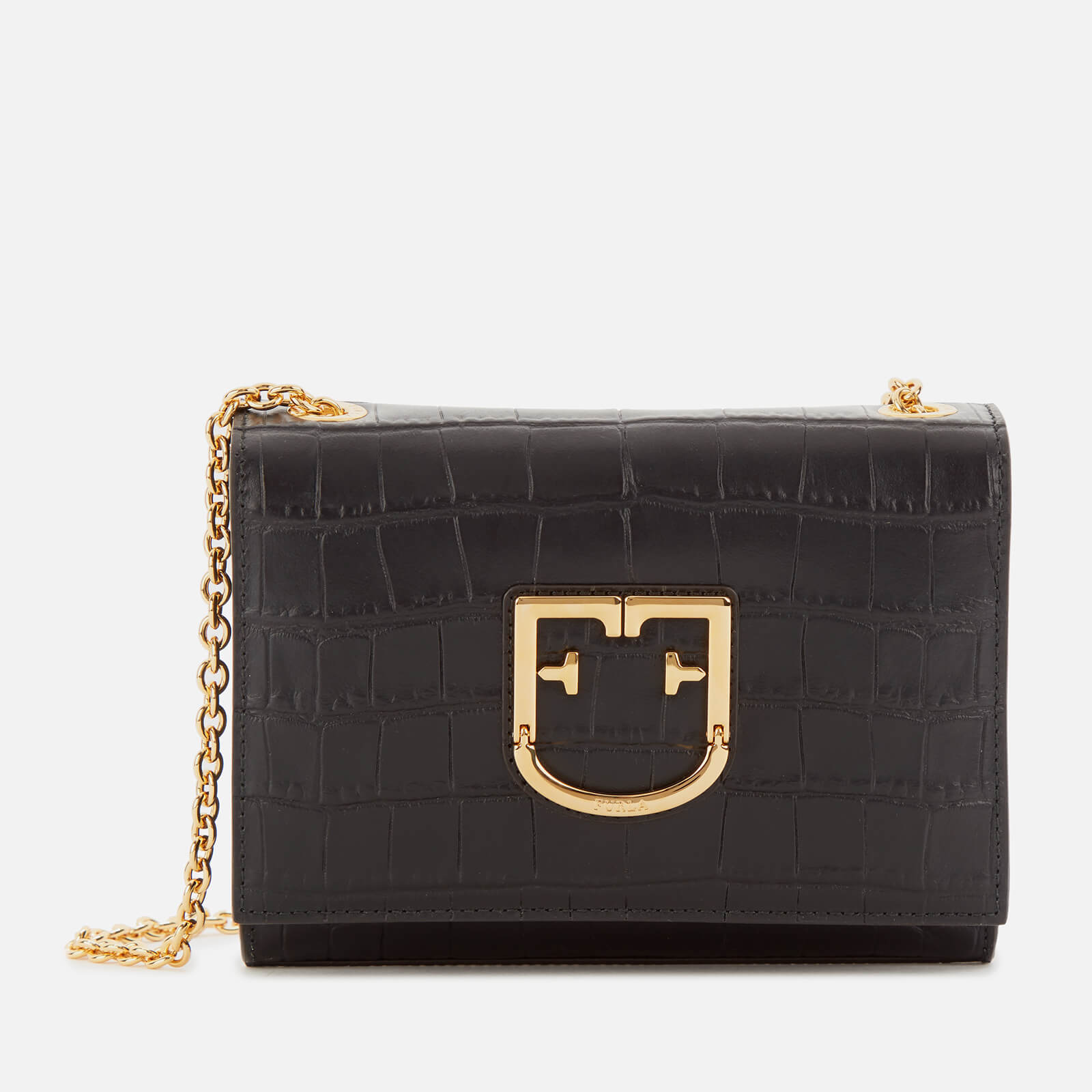 Furla Women's Viva Mini Pochette Bag - Black