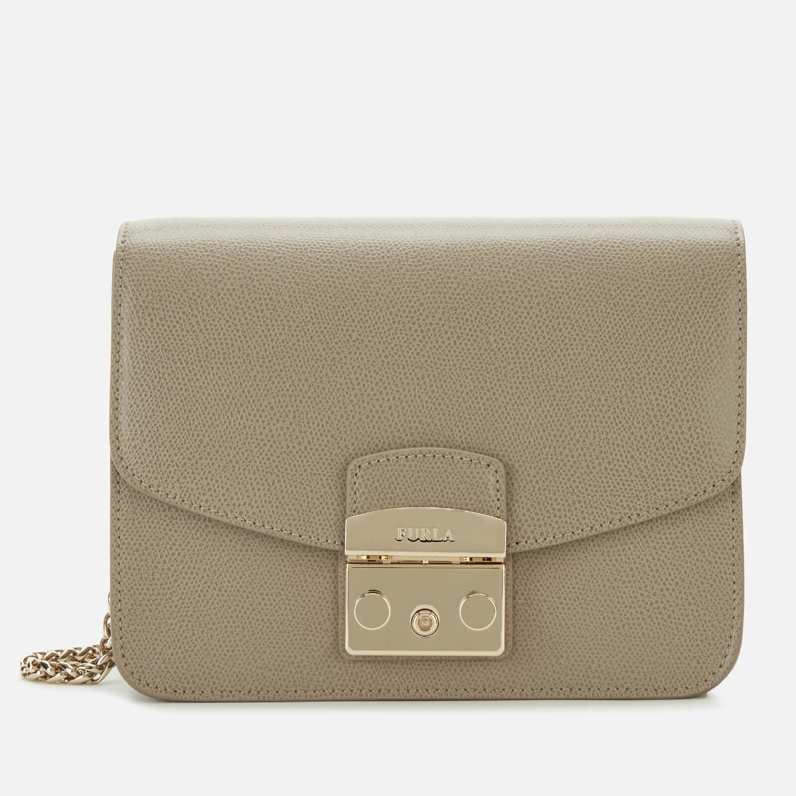 Furla Women's Metropolis Small Cross Body Bag - Beige 原價290英鎊 優惠價174
