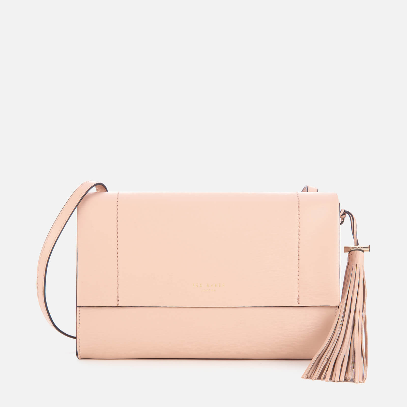 Ted Baker Women's Natalei Leather Tassel Detail Cross Body Bag - Taupe 原價129英鎊 優惠價65