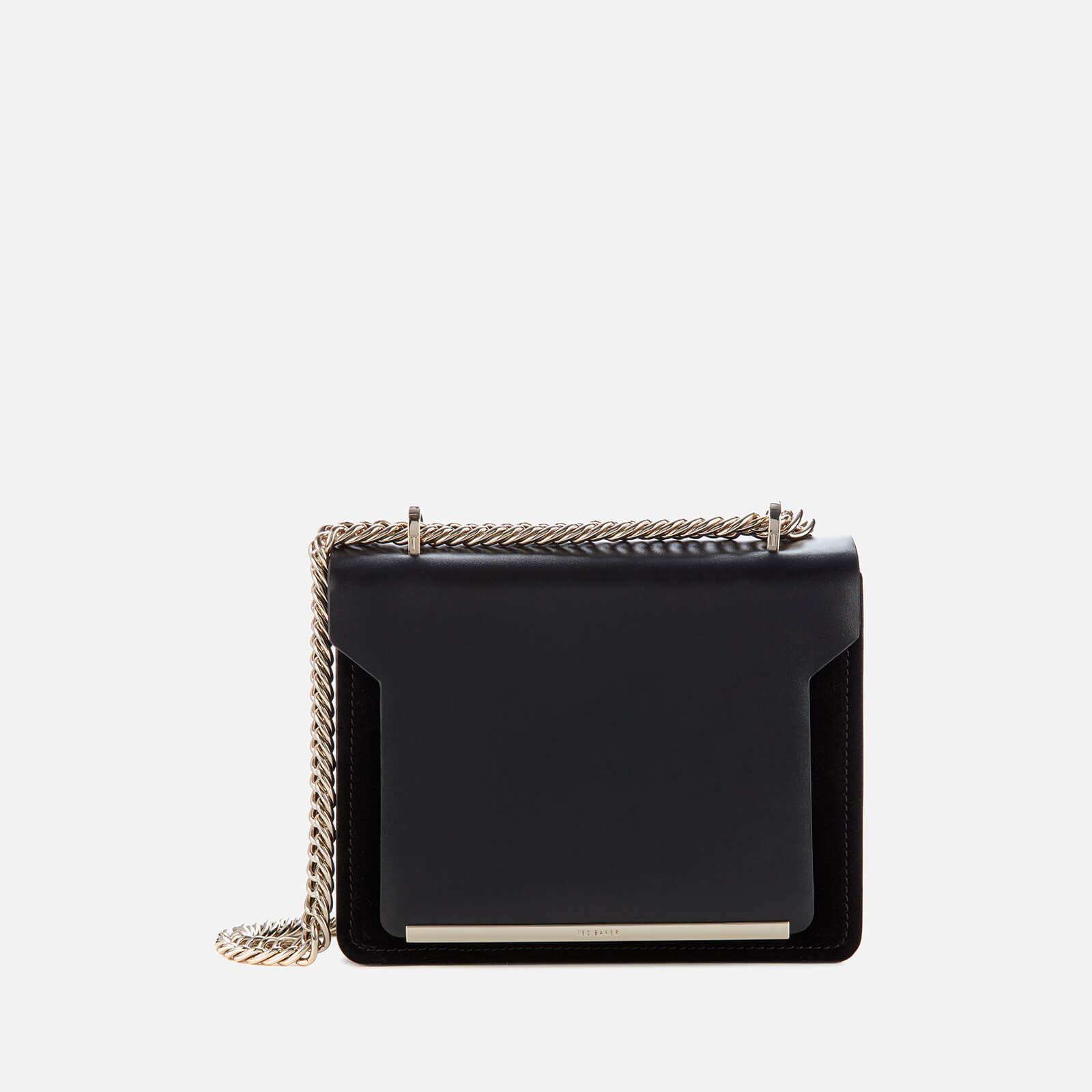 Ted Baker Women's Ameniaa Slim Bar Detail Cross Body Bag - Black 原價159英鎊 優惠價80