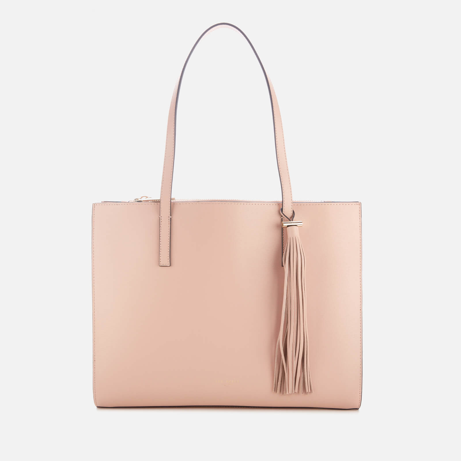 Ted Baker Women's Narissa Leather Tassel Detal Large Tote Bag - Taupe 原價189英鎊 優惠價95