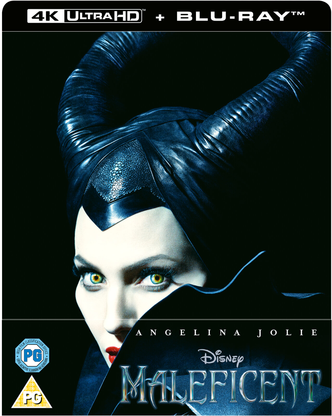 Maleficent 4k Ultra Hd Zavvi Exclusive Steelbook Includes 2d Blu Ray