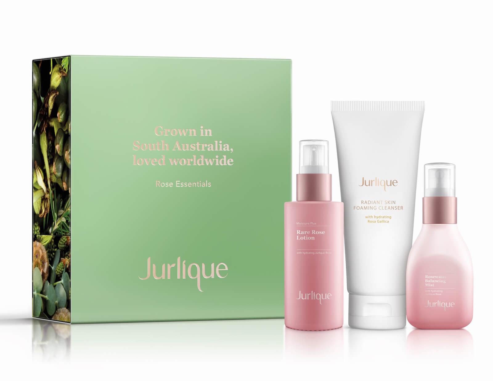 Jurlique Rose Moisture Plus Essentials Set (Worth £80.00)