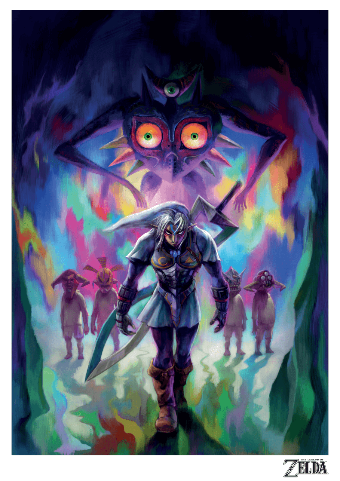 Legend Of Zelda Giclee A4 Art Print