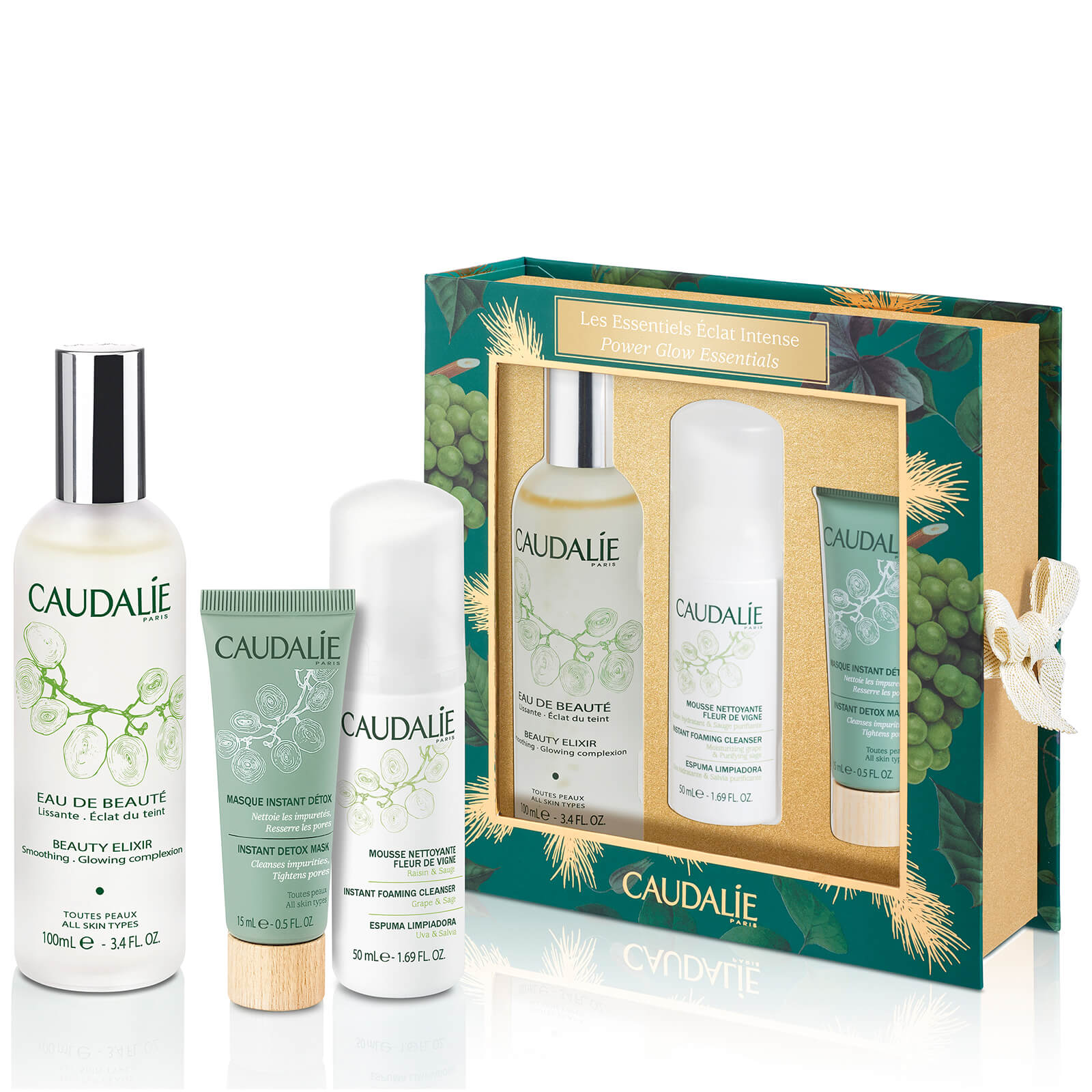 Caudalie Beauty Glow Essentials Worth 4400