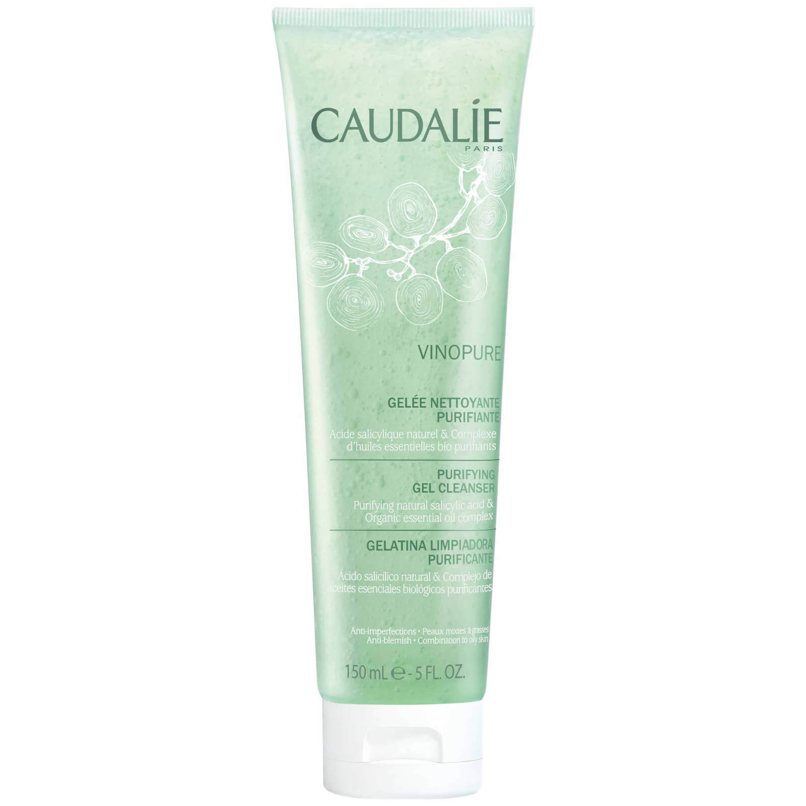 Caudalie Vinopure Purifying Gel Cleanser 150ml