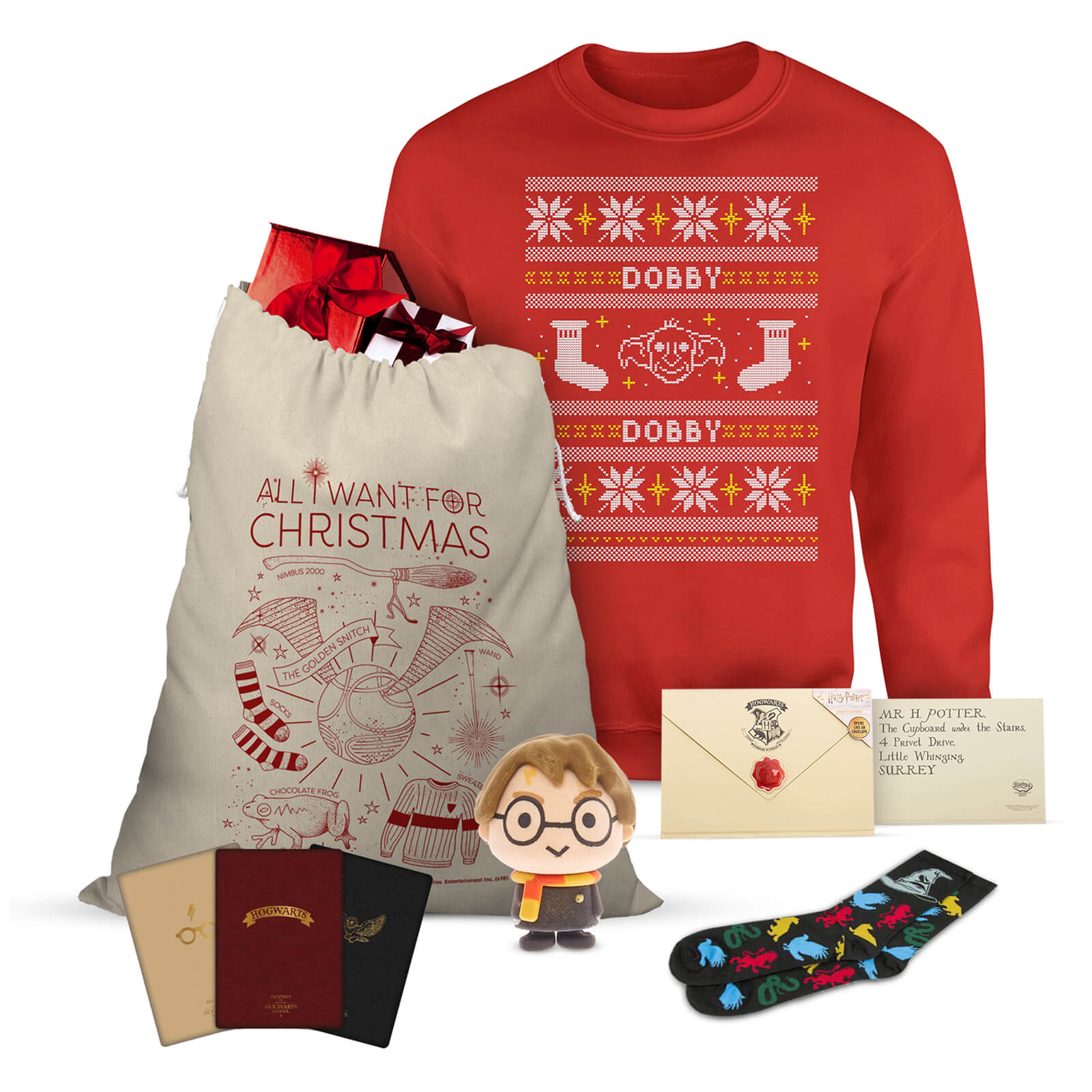 Harry Potter Christmas Gifts.Harry Potter Officially Licensed Mega Christmas Gift Set