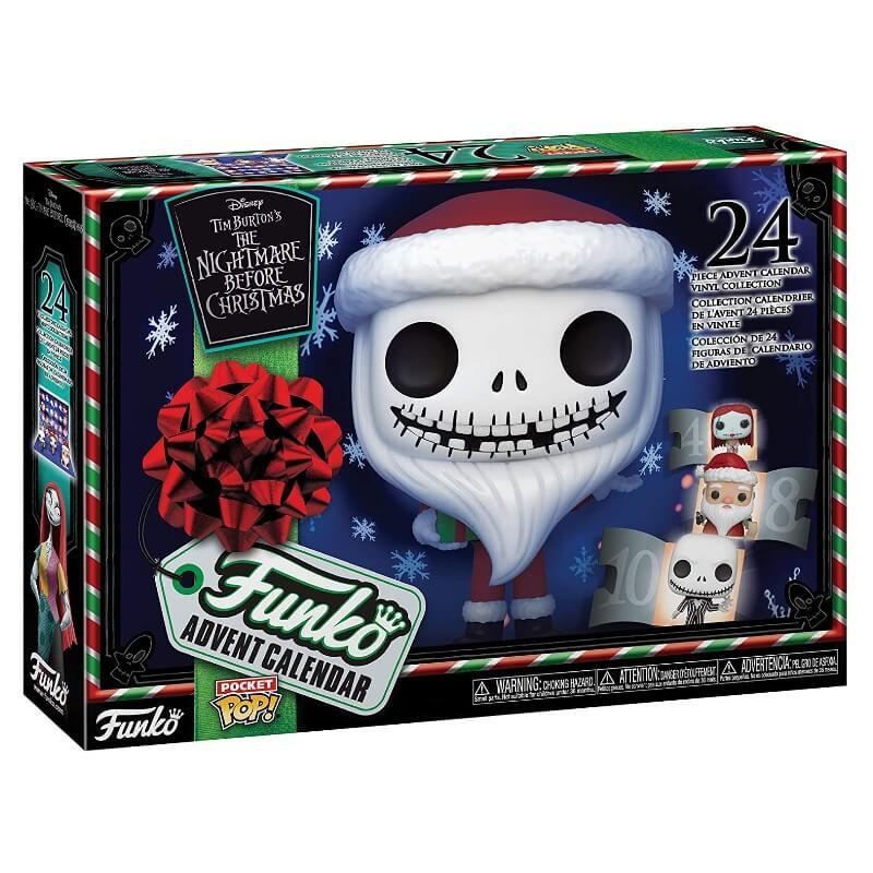 Calendario De Adviento Pocket Pop! - Pesadilla Antes De Navidad